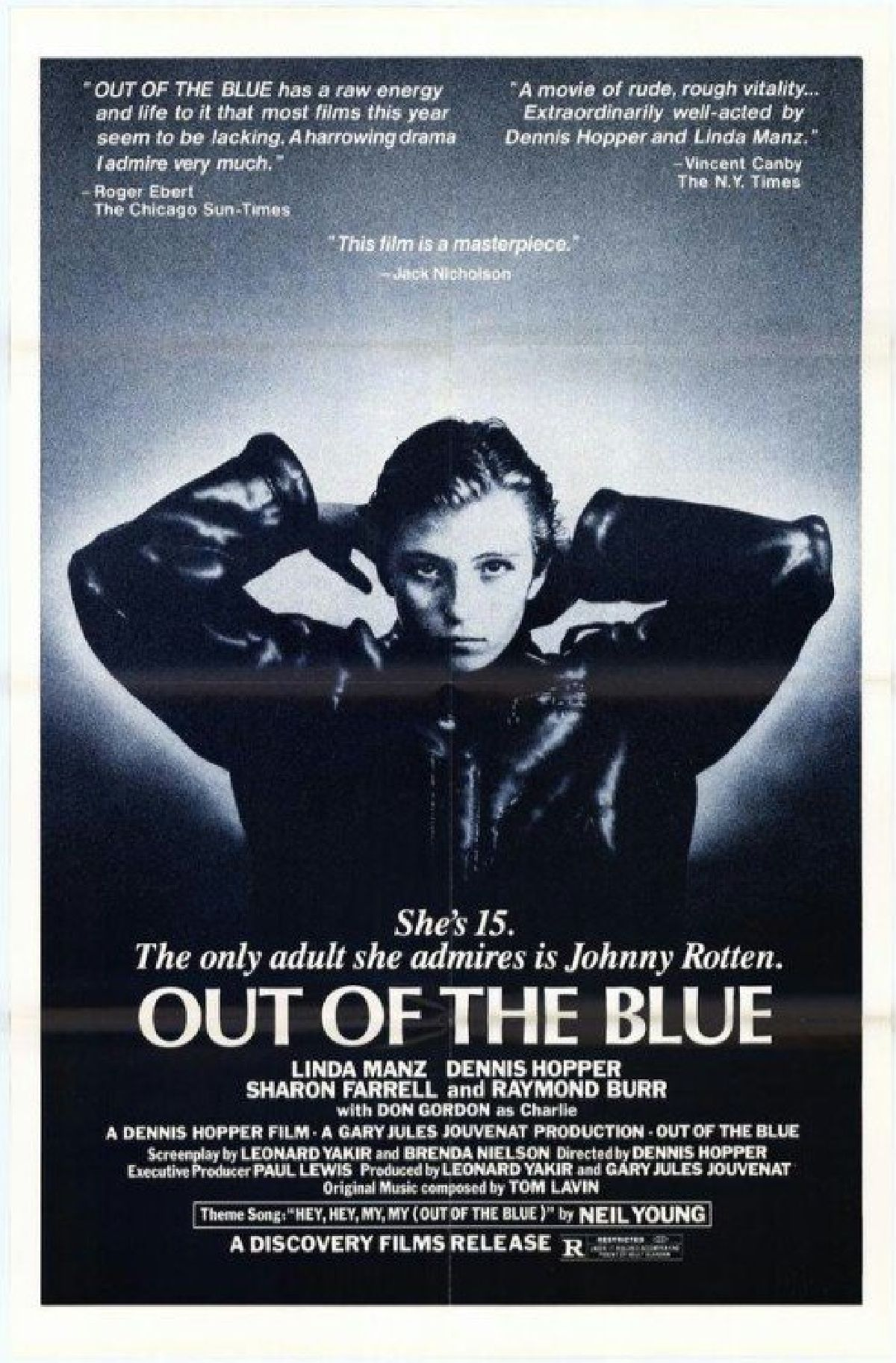 'Out Of The Blue' movie poster