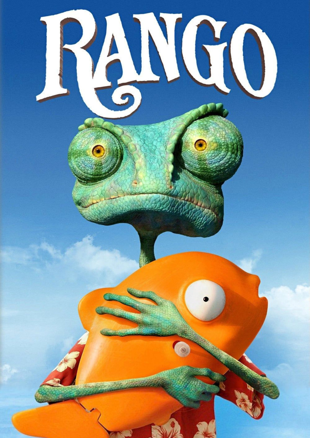 'Rango' movie poster