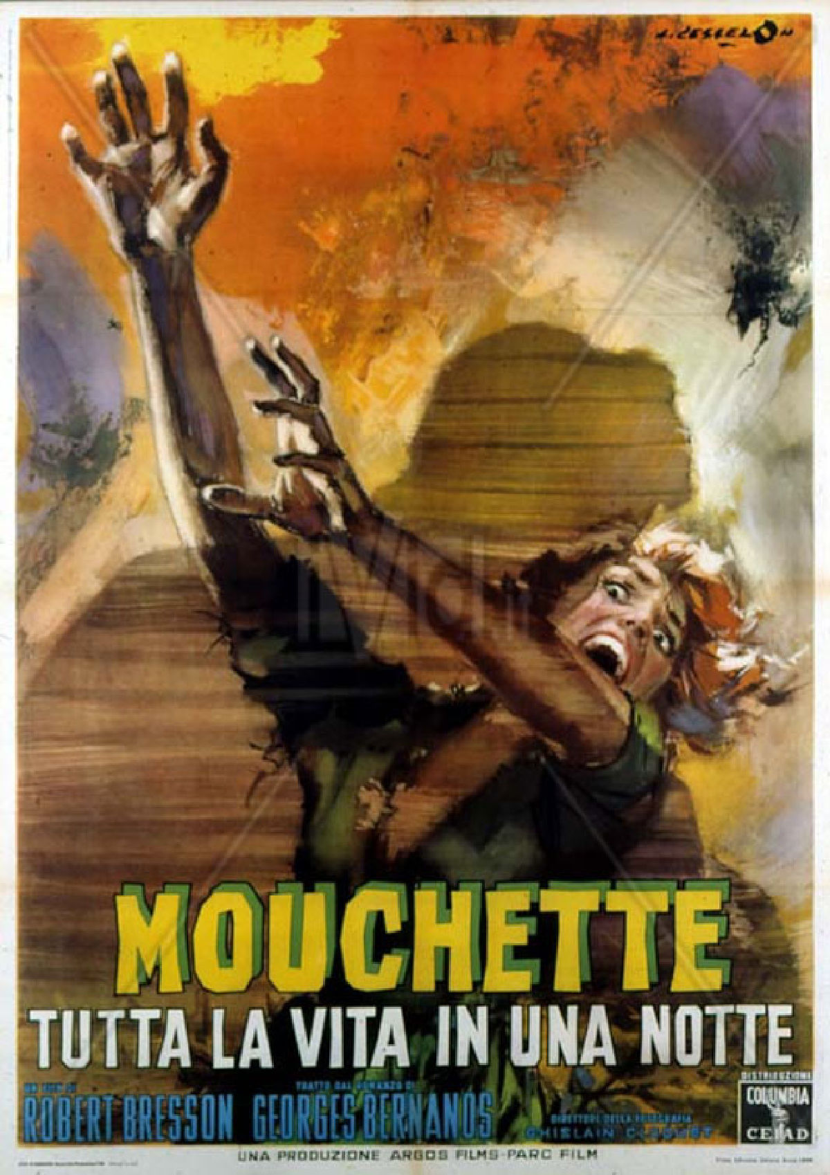 'Mouchette' movie poster