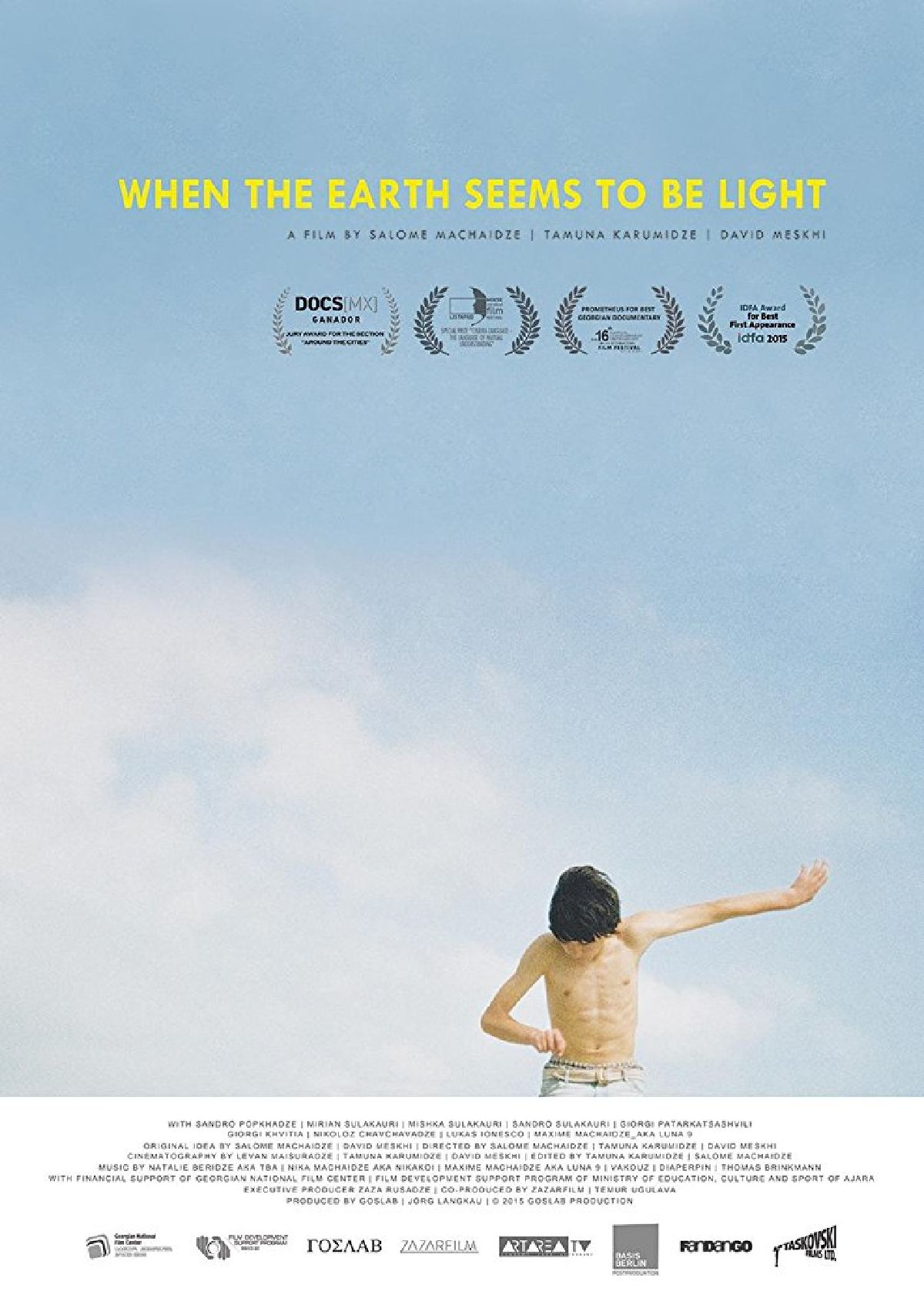 'When The Earth Seems To Be Light' movie poster