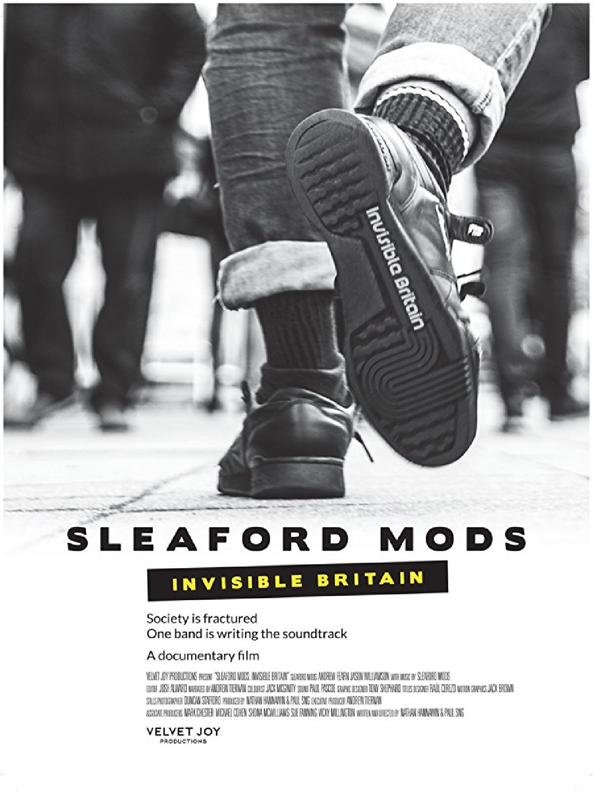 'Sleaford Mods: Invisible Britain' movie poster
