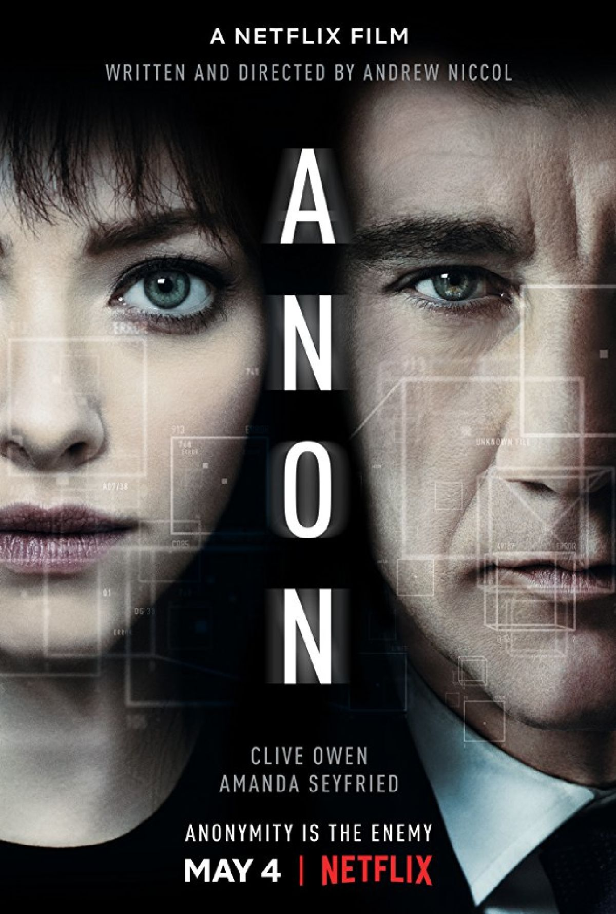 'Anon' movie poster