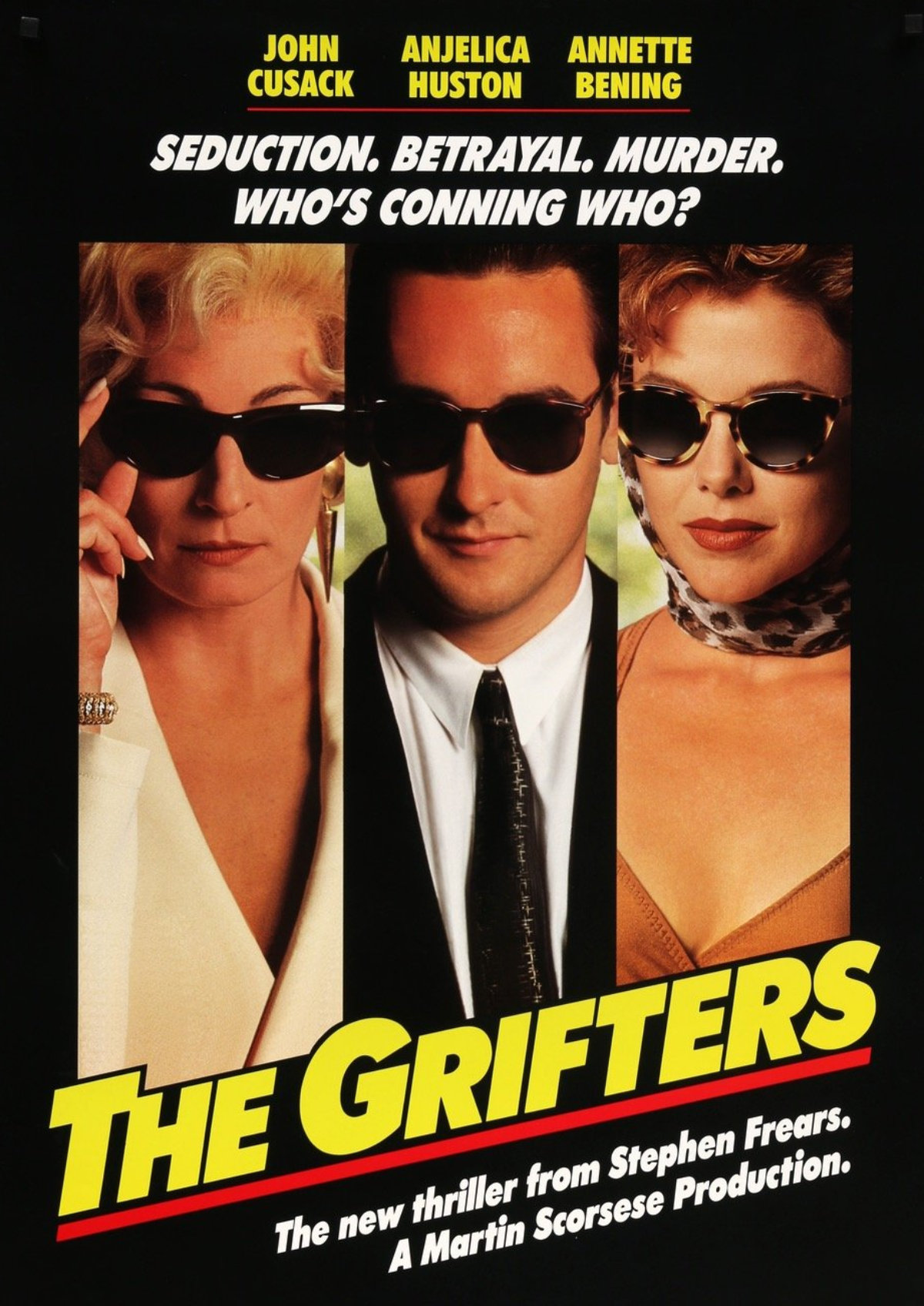 'The Grifters' movie poster