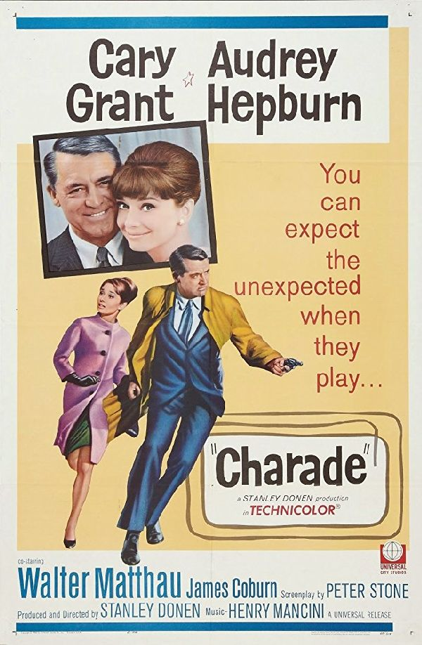 'Charade' movie poster