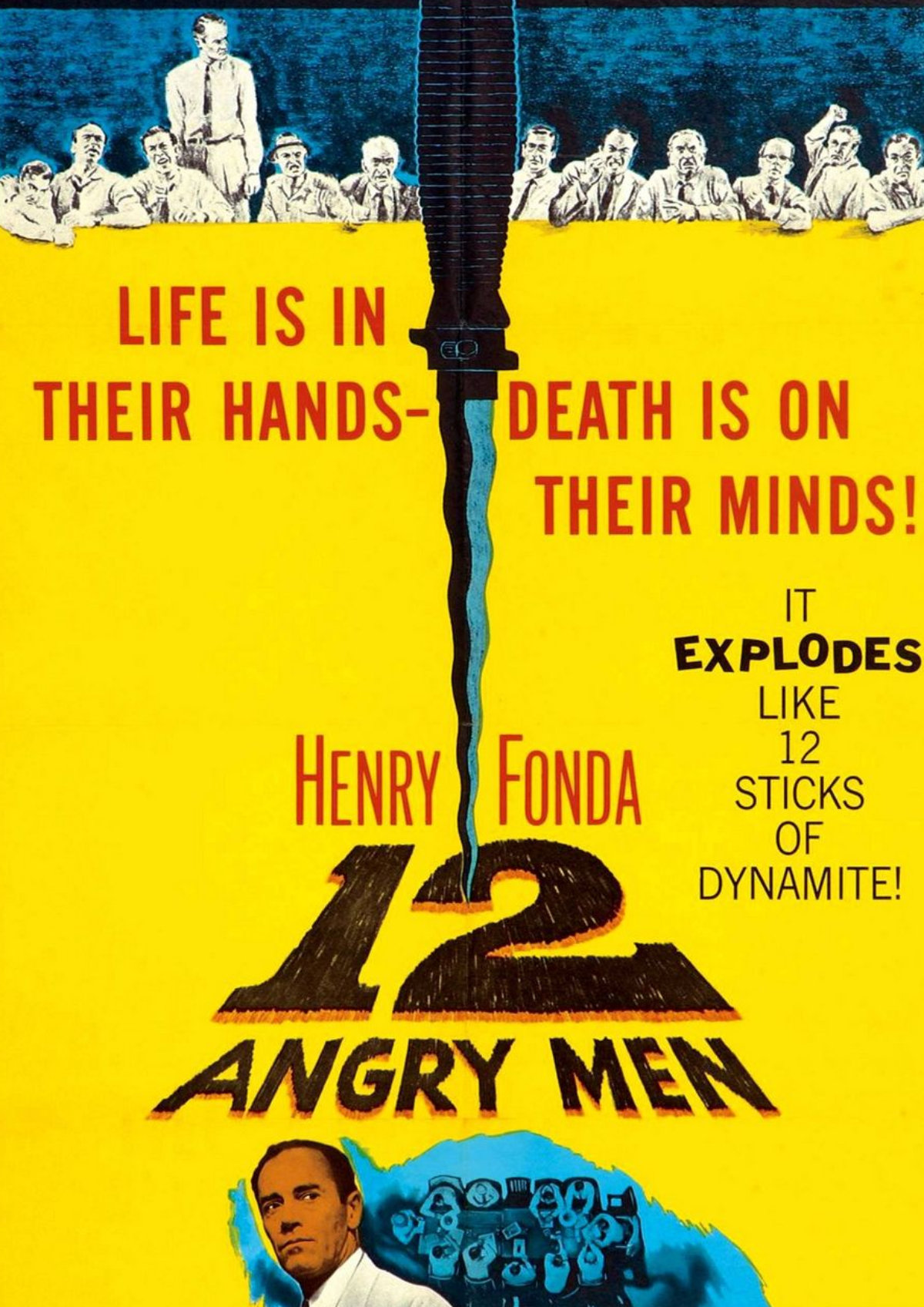'12 Angry Men' movie poster