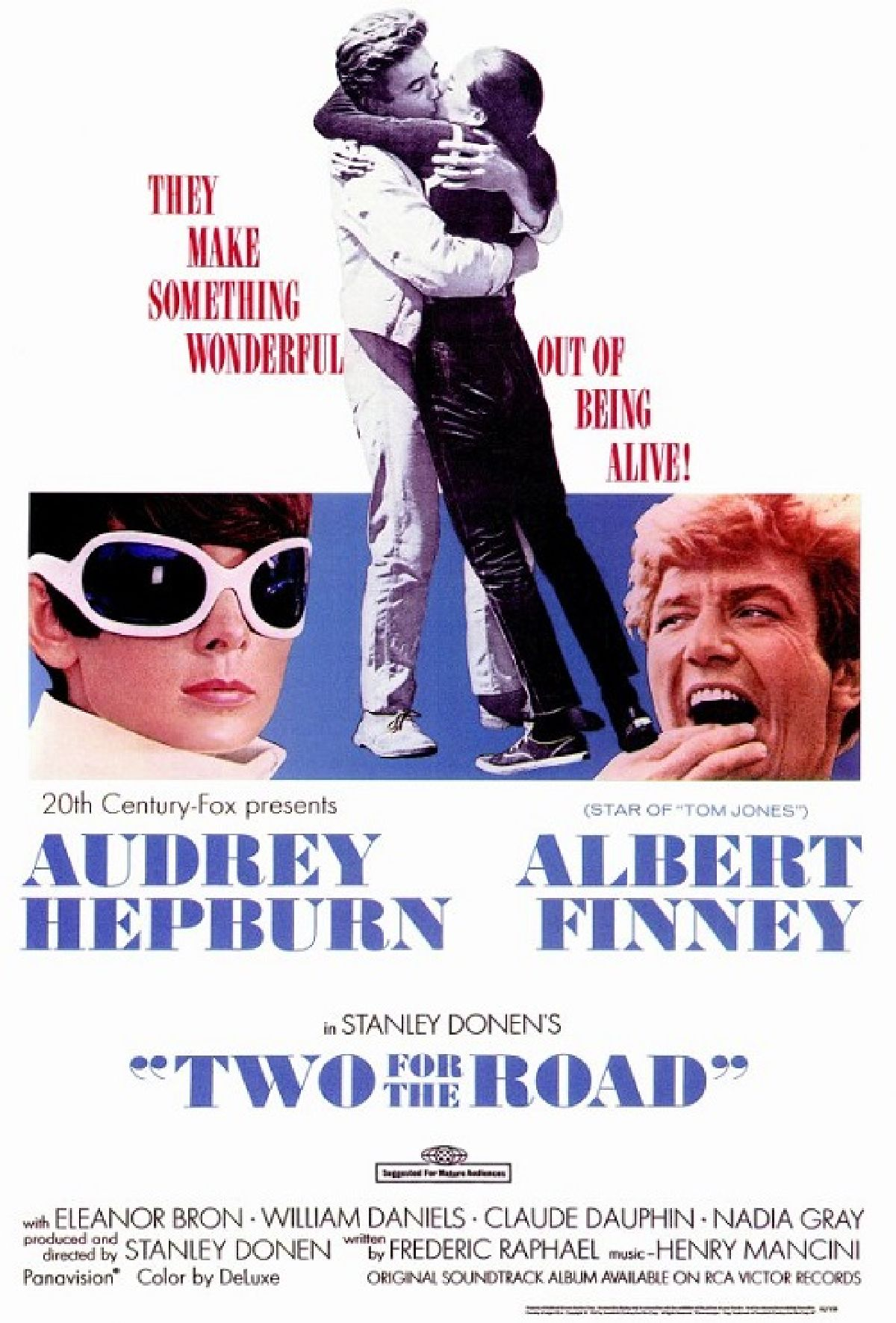 'Two For The Road' movie poster