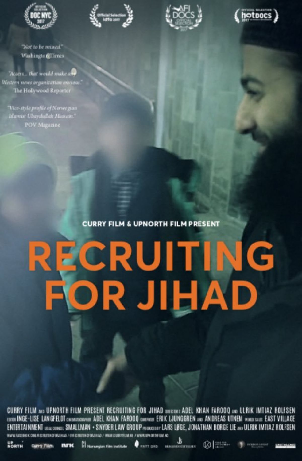 'Recruiting For Jihad' movie poster