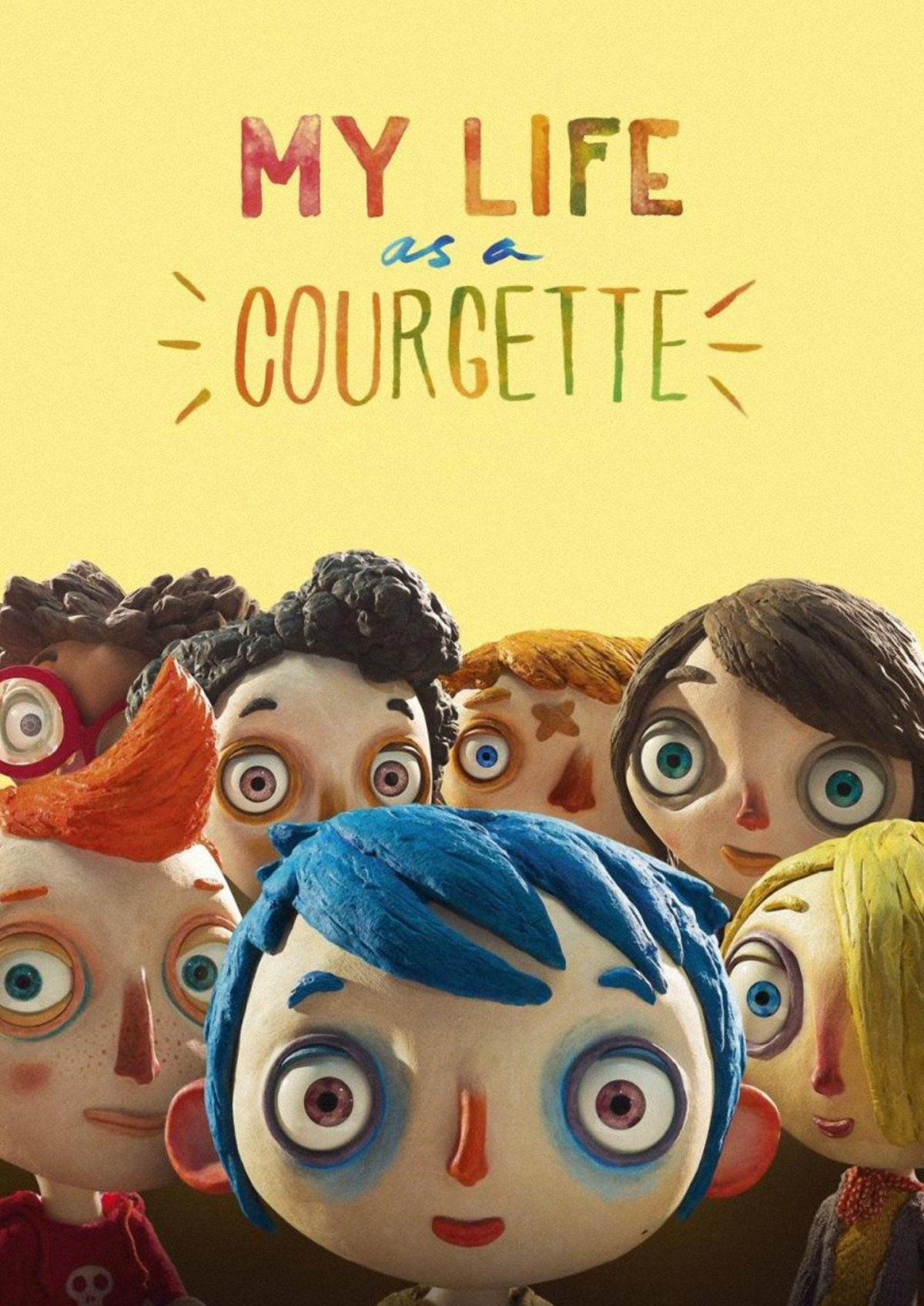 'My Life as a Courgette' movie poster