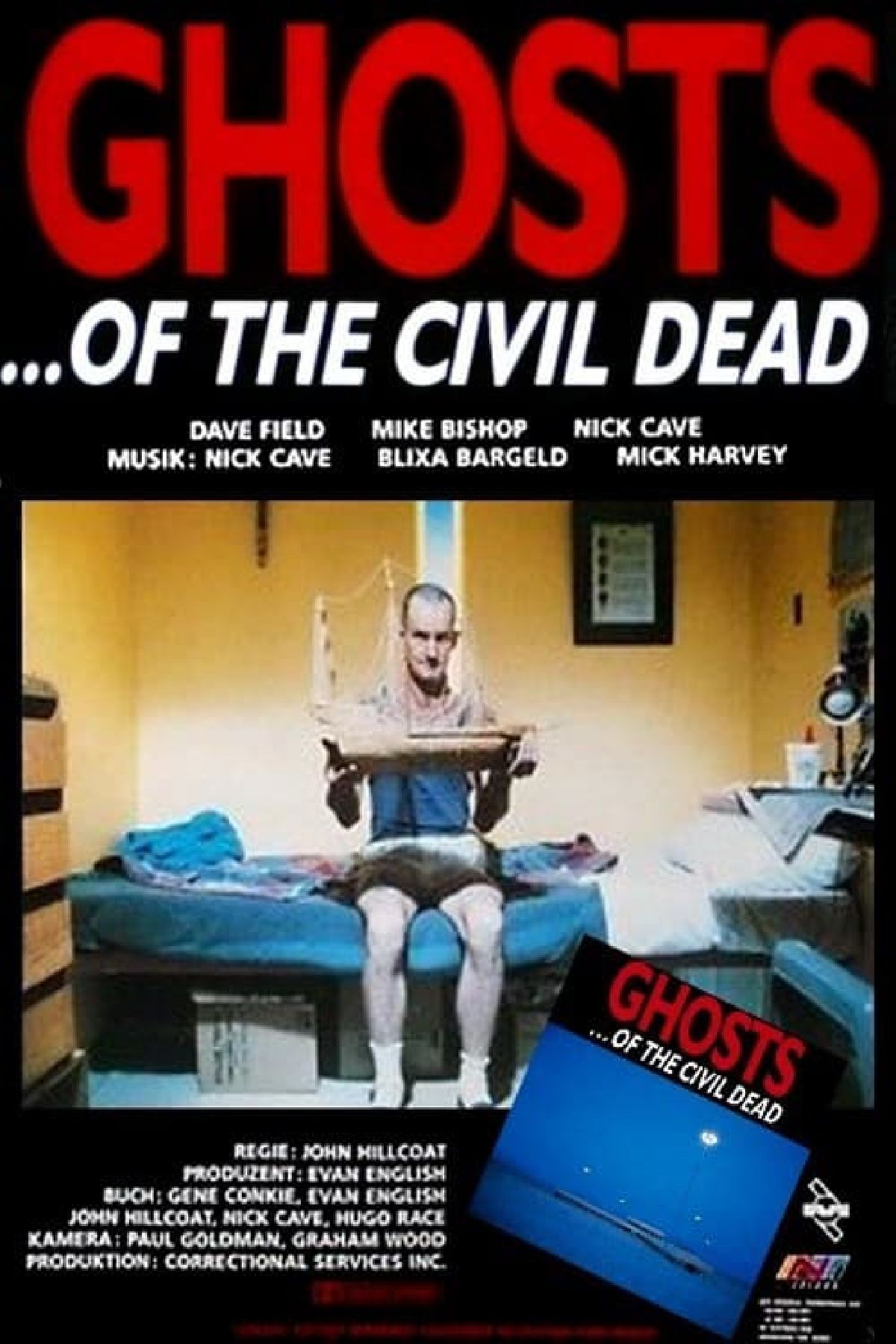 'Ghosts... Of The Civil Dead' movie poster