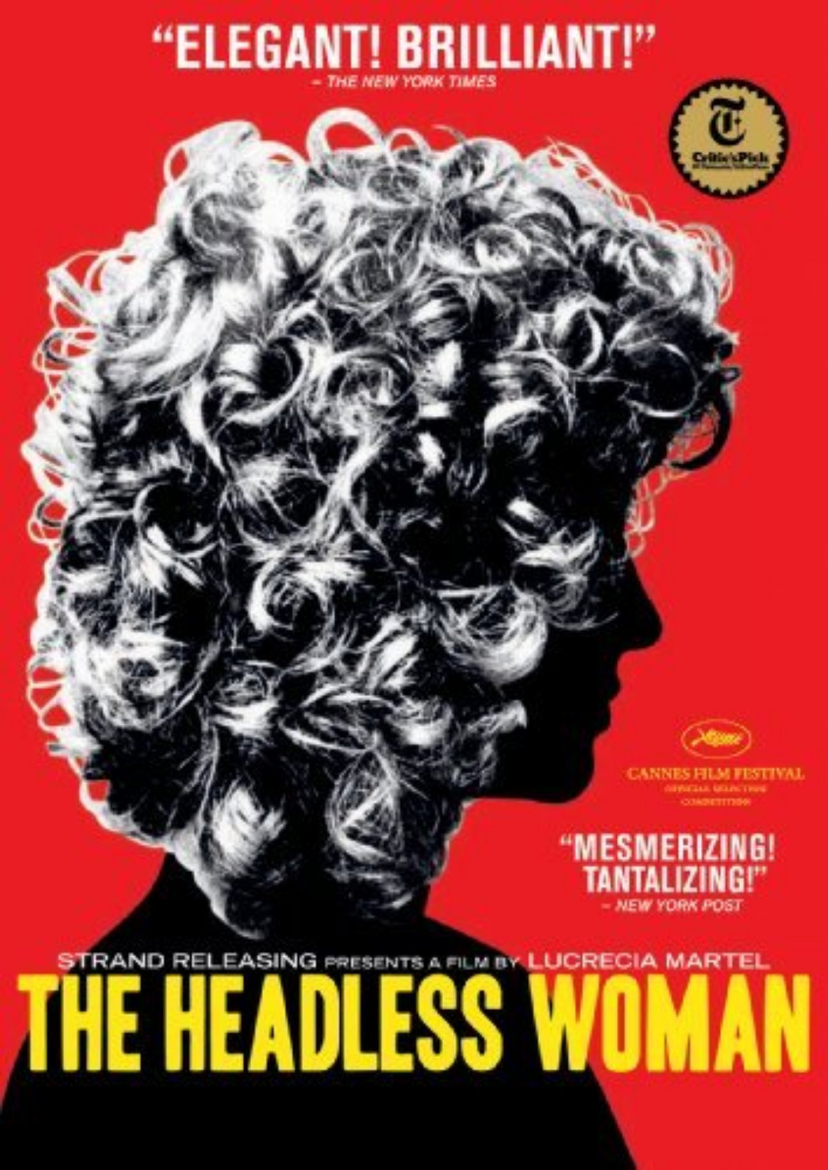 'The Headless Woman (La Mujer Sin Cabeza)' movie poster