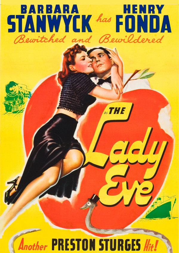 'The Lady Eve' movie poster