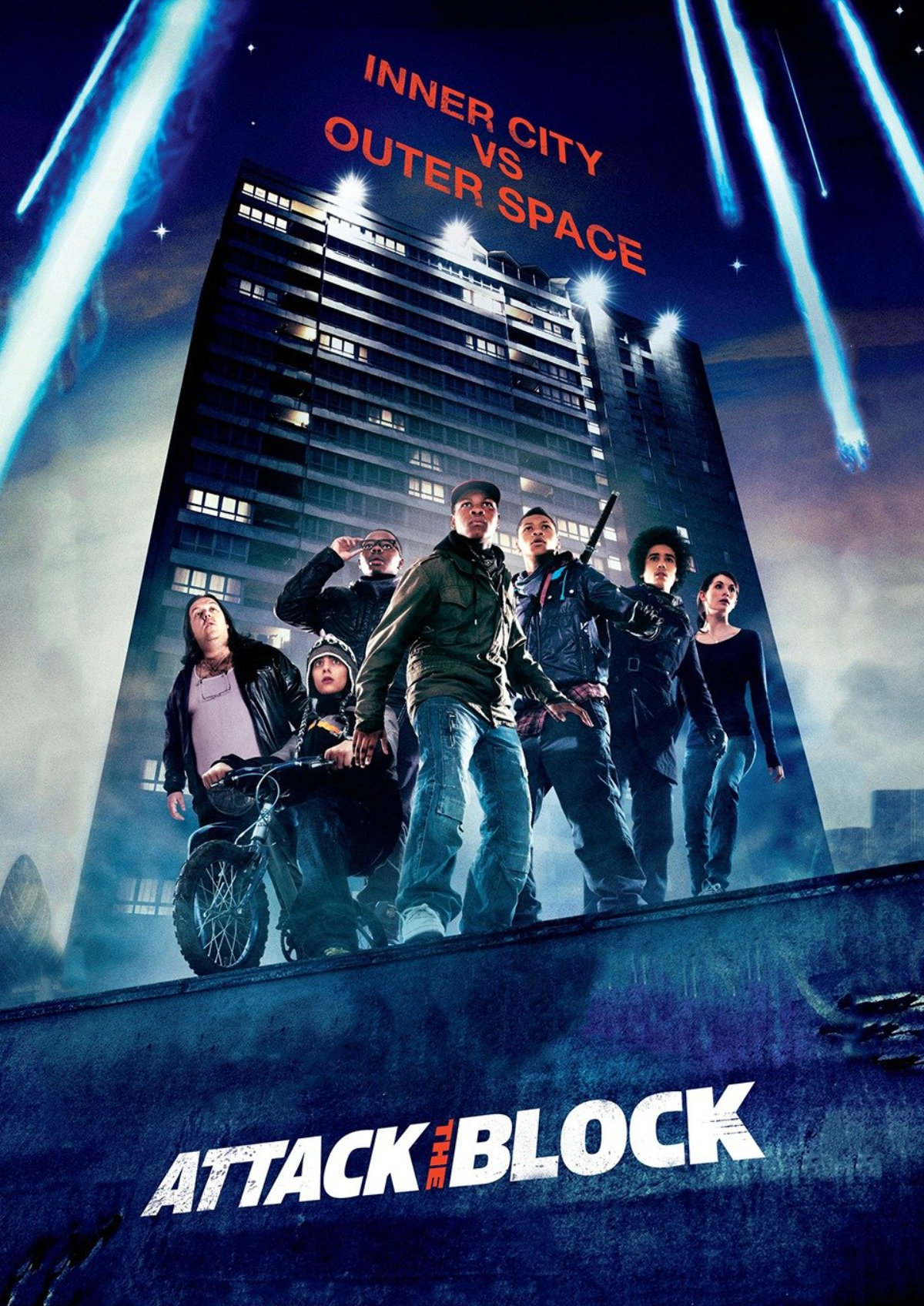 'Attack the Block' movie poster