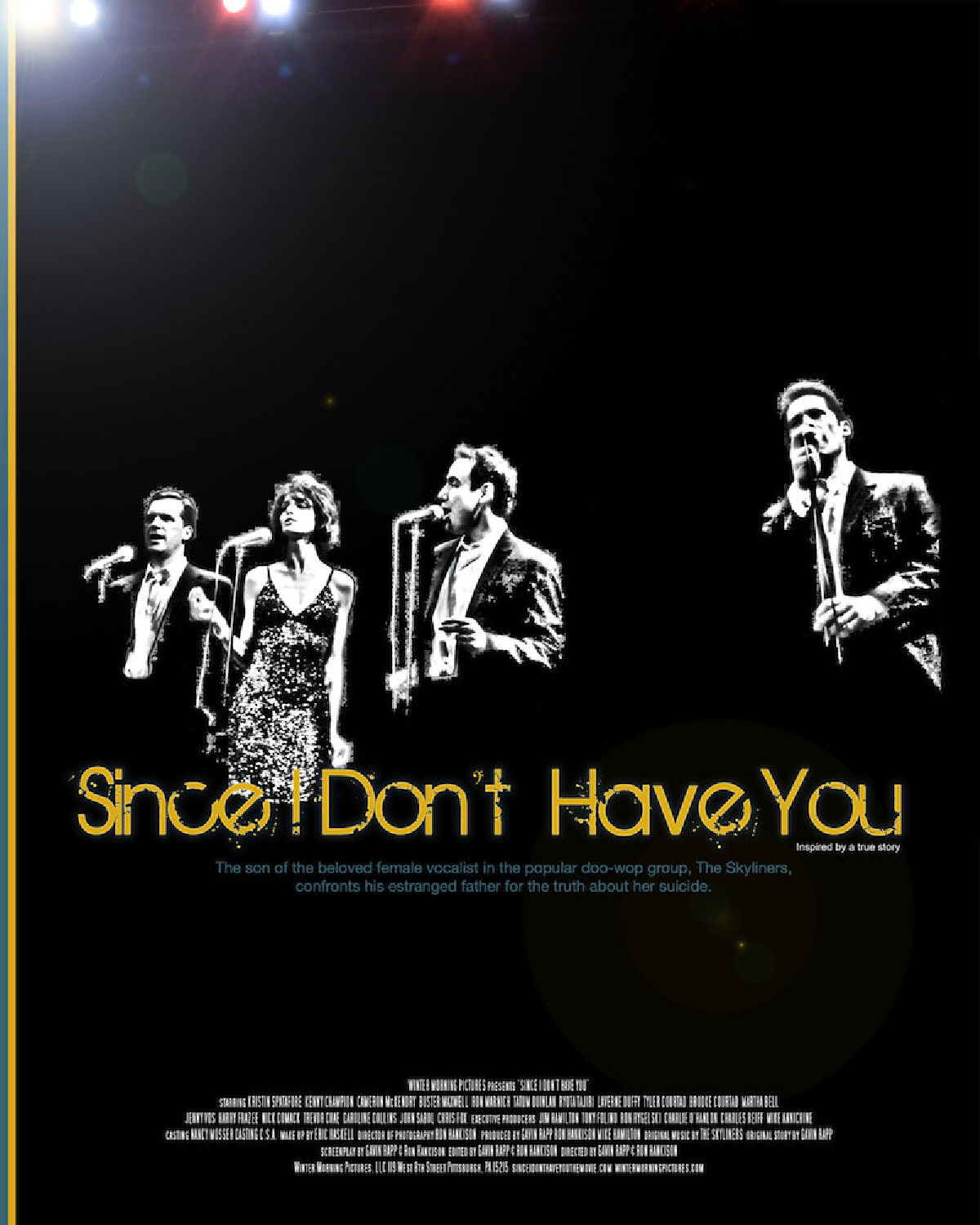 'Since I Don't Have You' movie poster