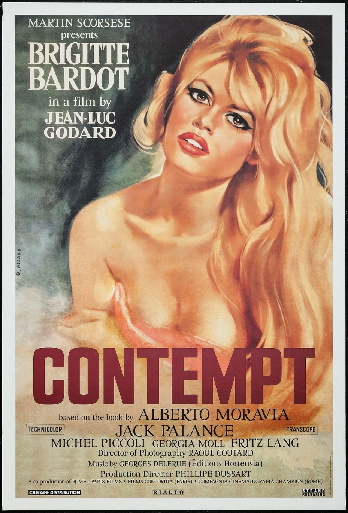 'Contempt (Le Mepris)' movie poster