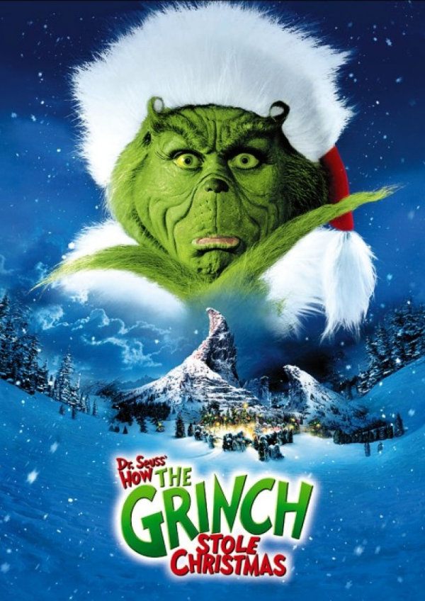 'How The Grinch Stole Christmas' movie poster