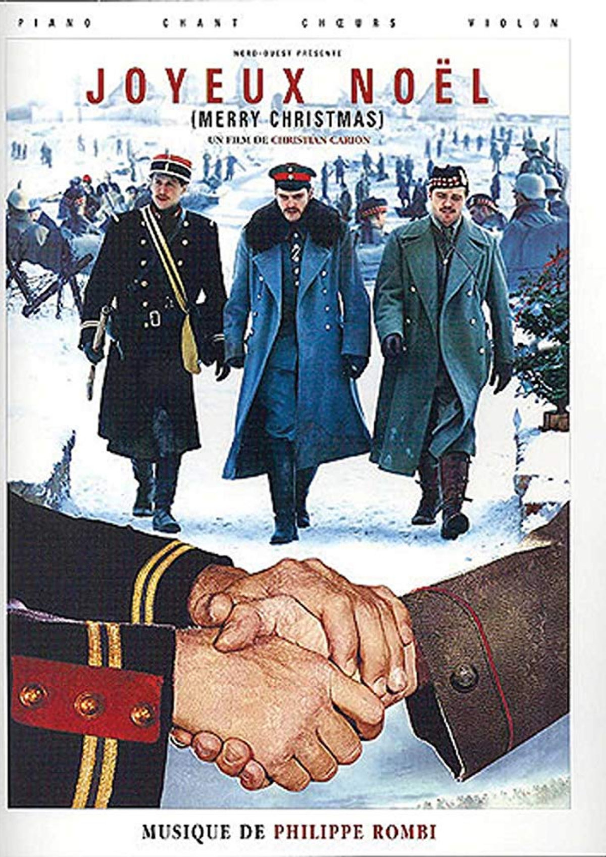 'Merry Christmas (Joyeux Noel)' movie poster
