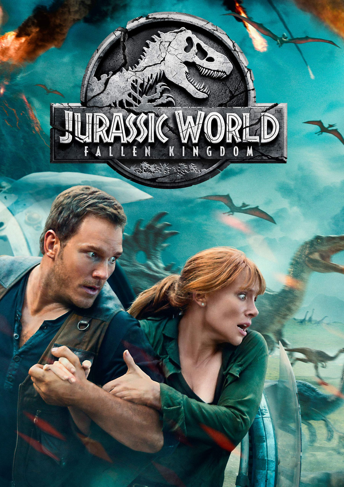 'Jurassic World: Fallen Kingdom' movie poster