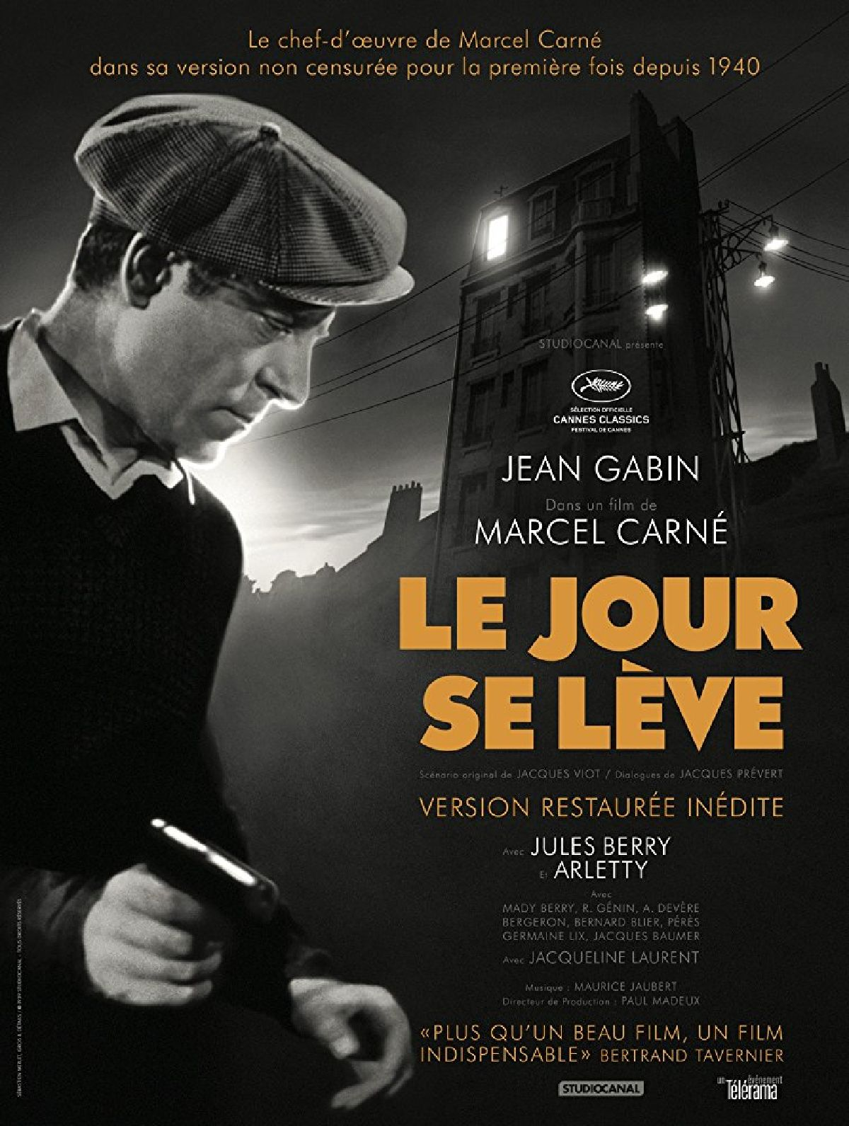 'Le Jour Se Leve' movie poster