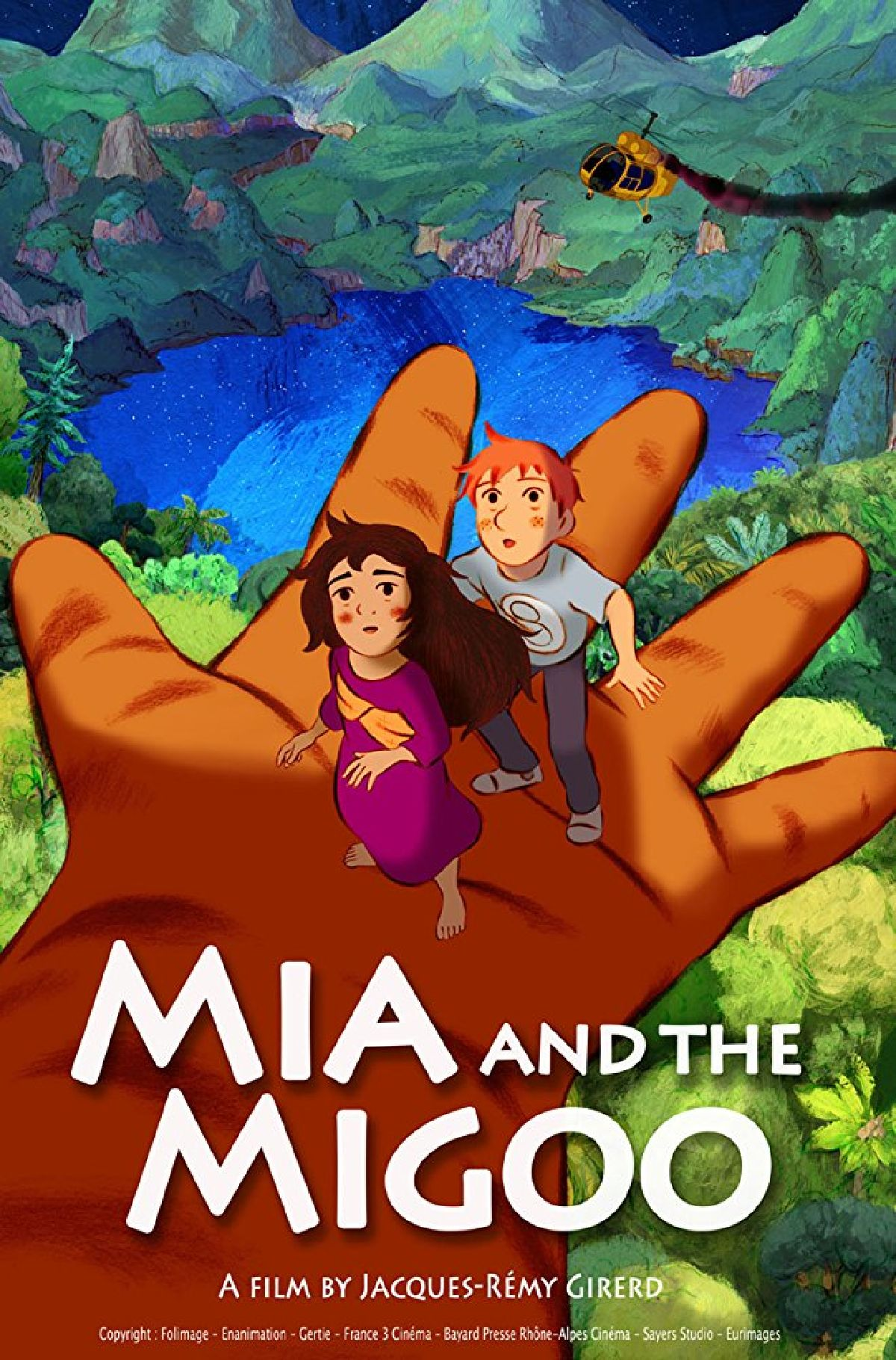 'Mia And The Migoo (Mia Et Le Migou)' movie poster