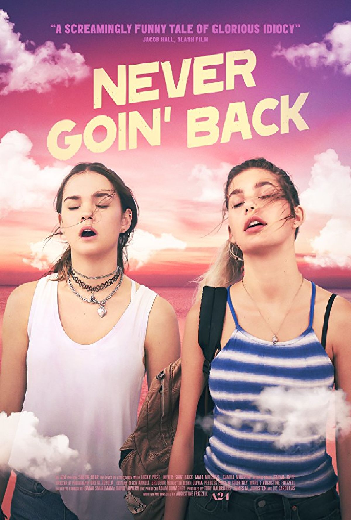 'Never Goin' Back' movie poster