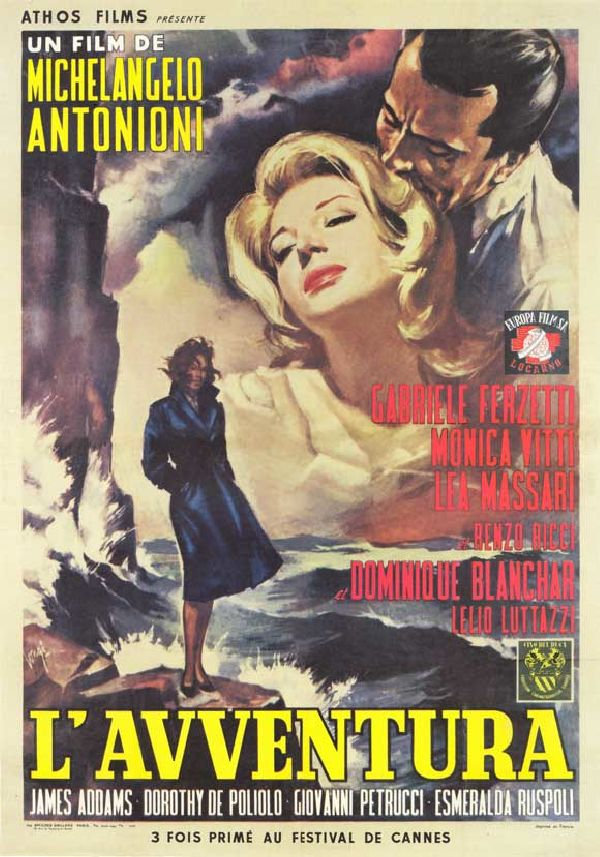 'L'Avventura' movie poster