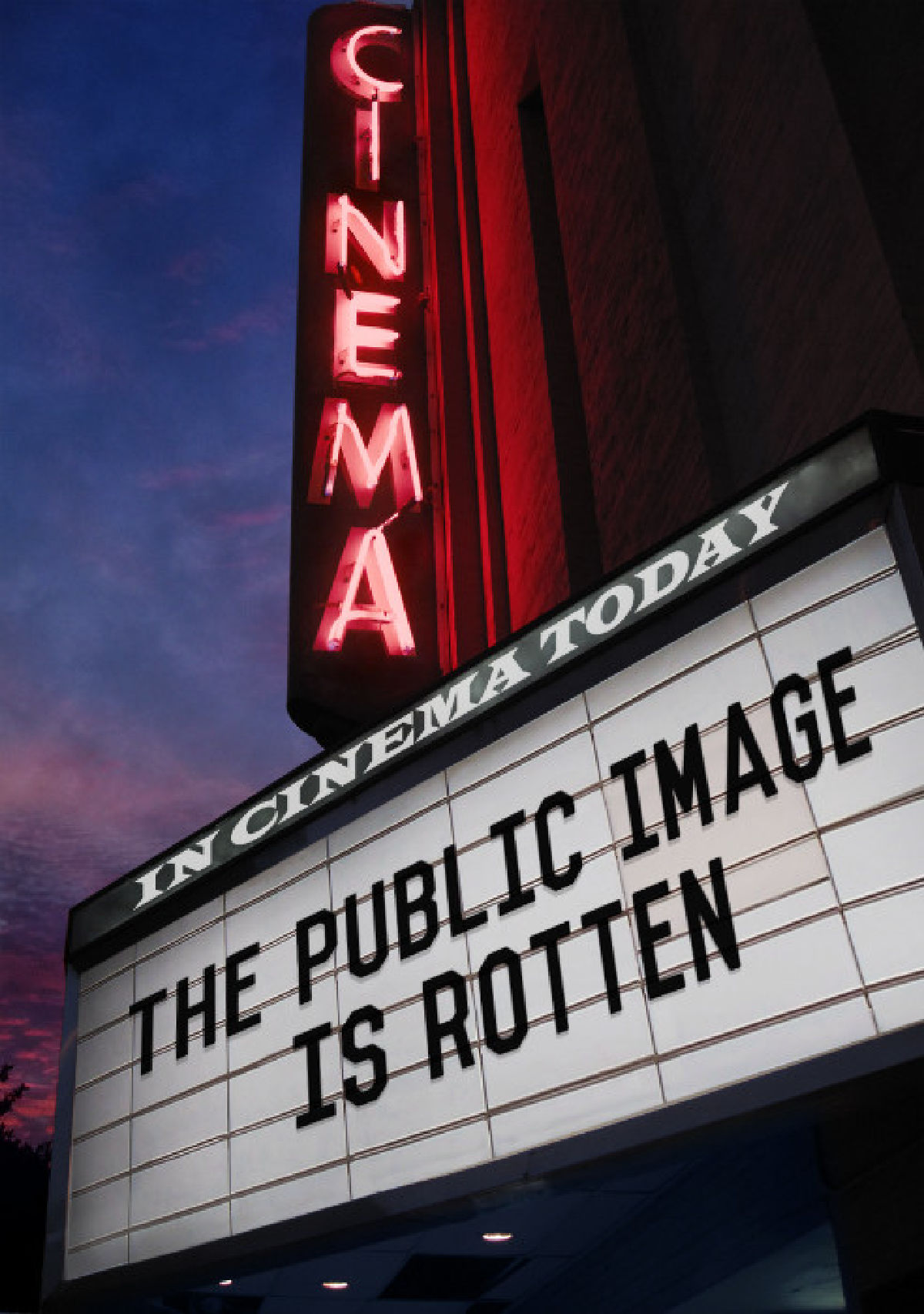 'The Public Image Is Rotten' movie poster