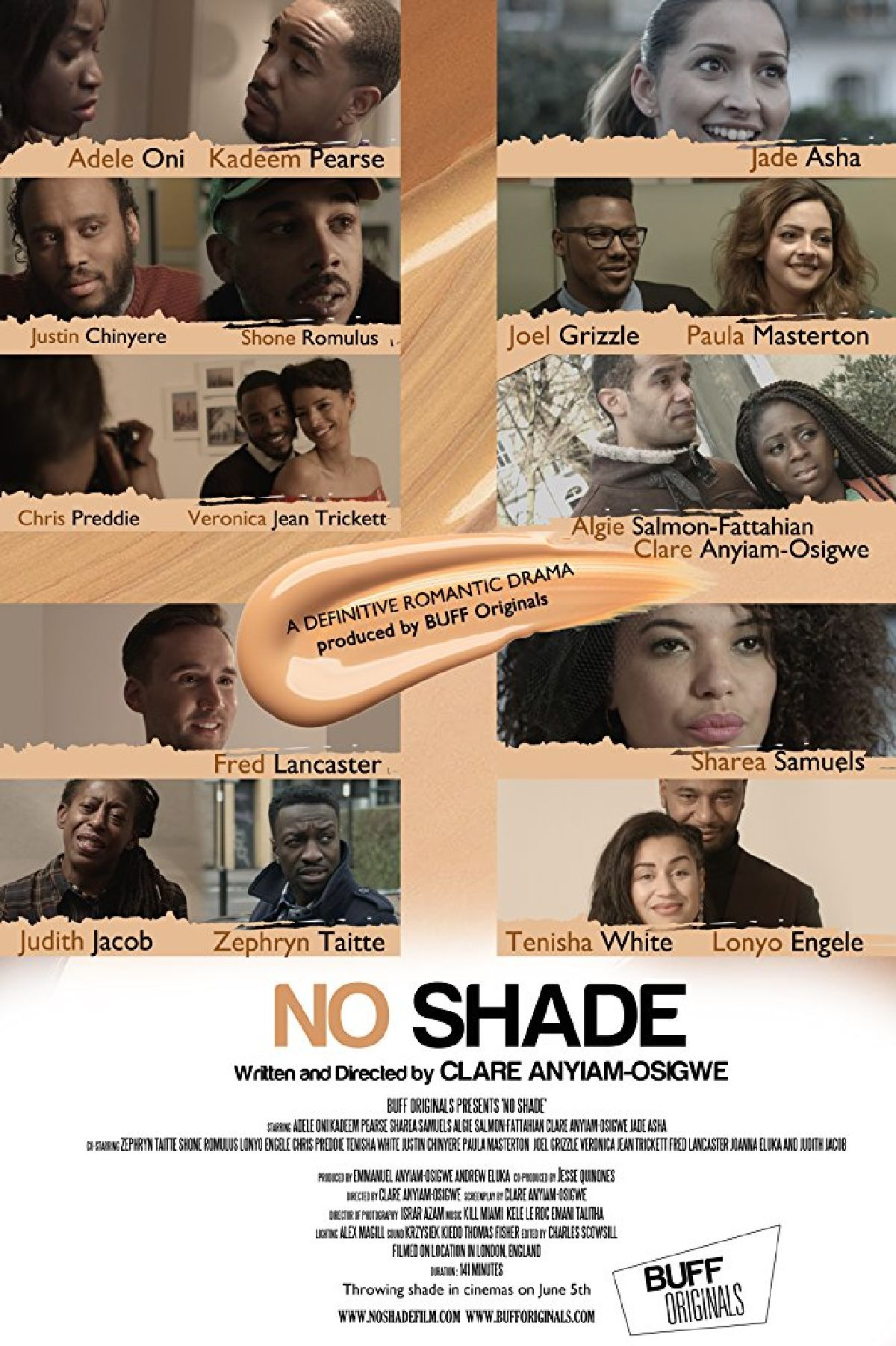 'No Shade' movie poster