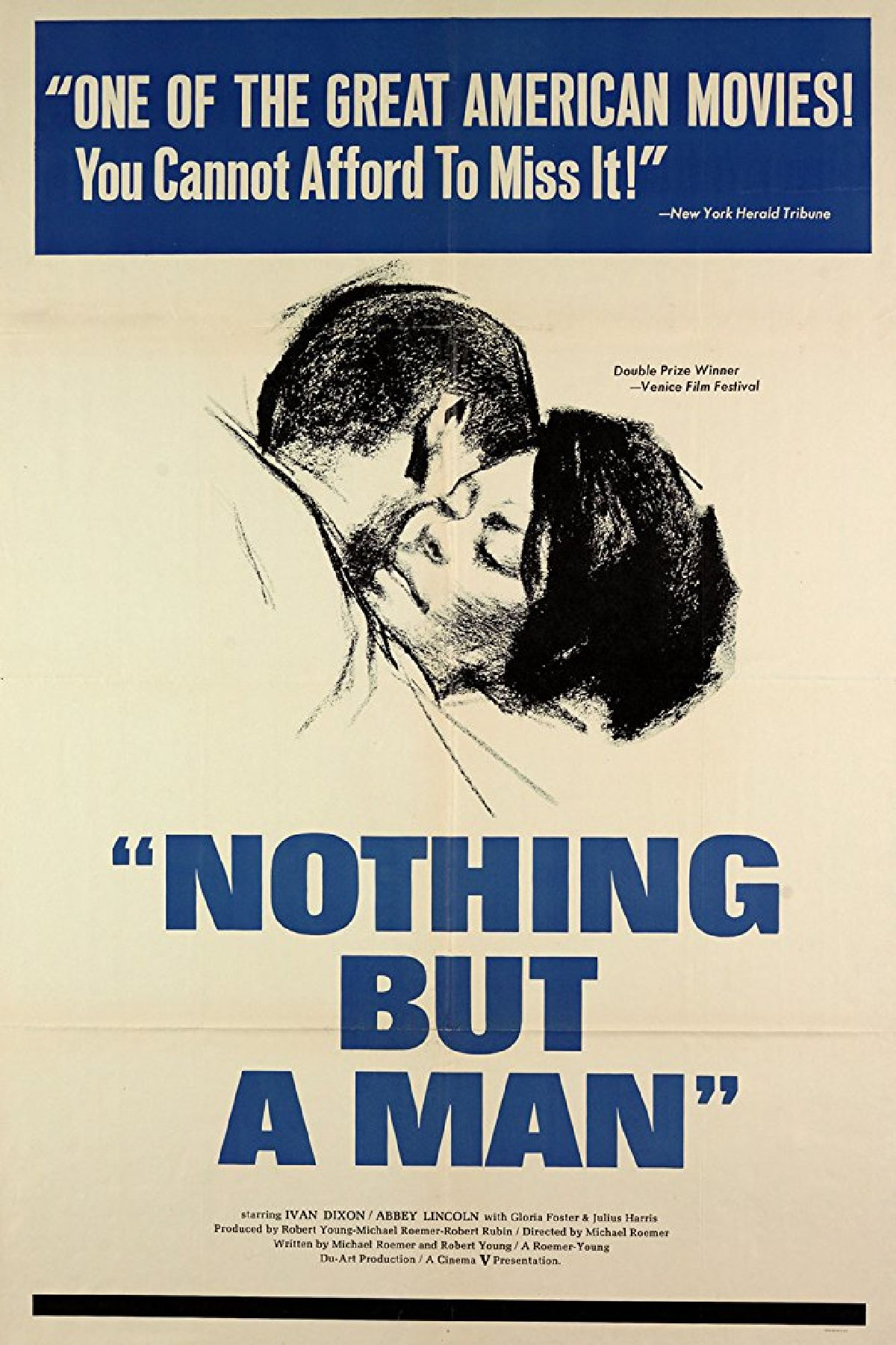 'Nothing But a Man' movie poster