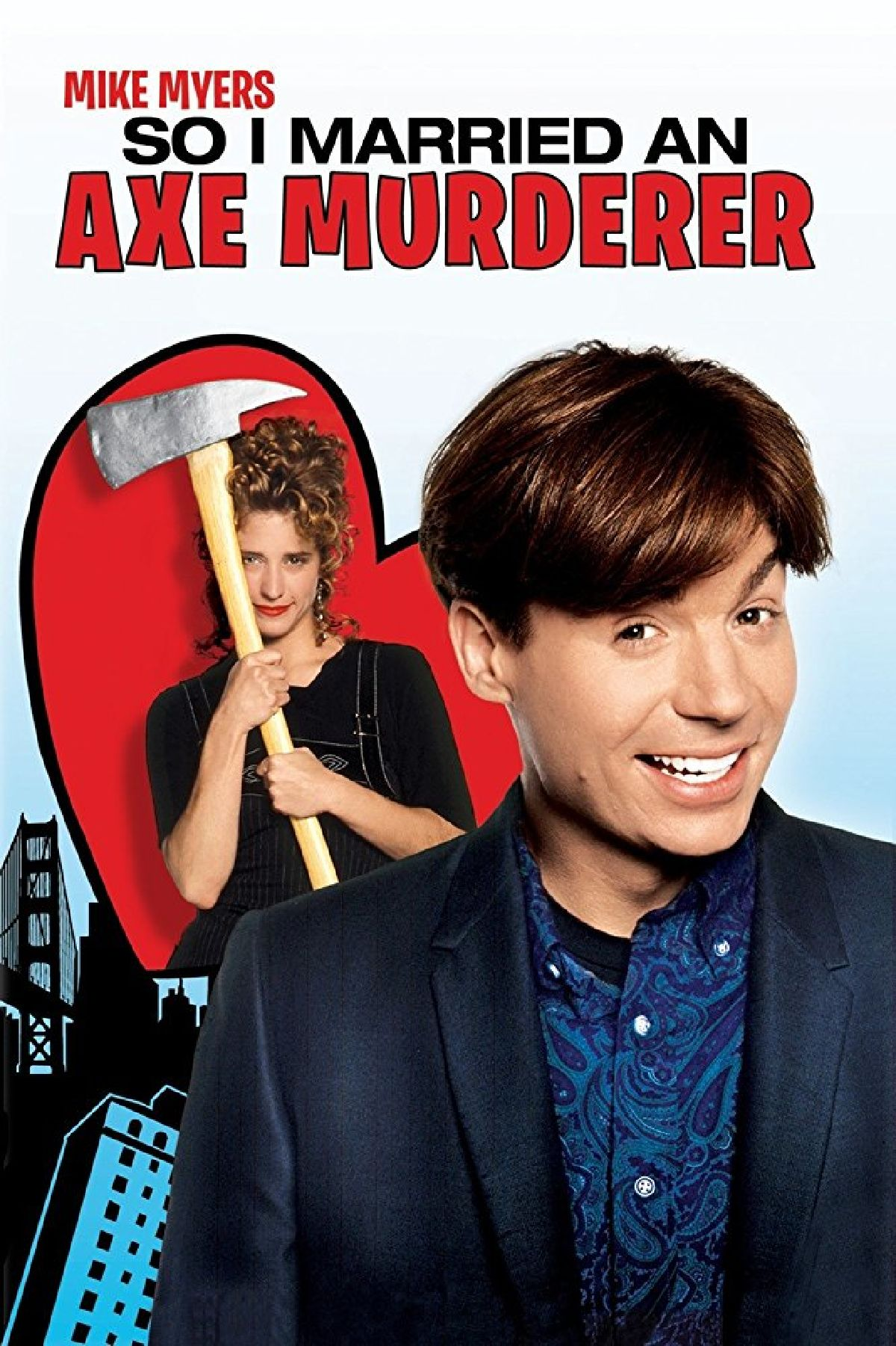 'So I Married An Axe Murderer' movie poster