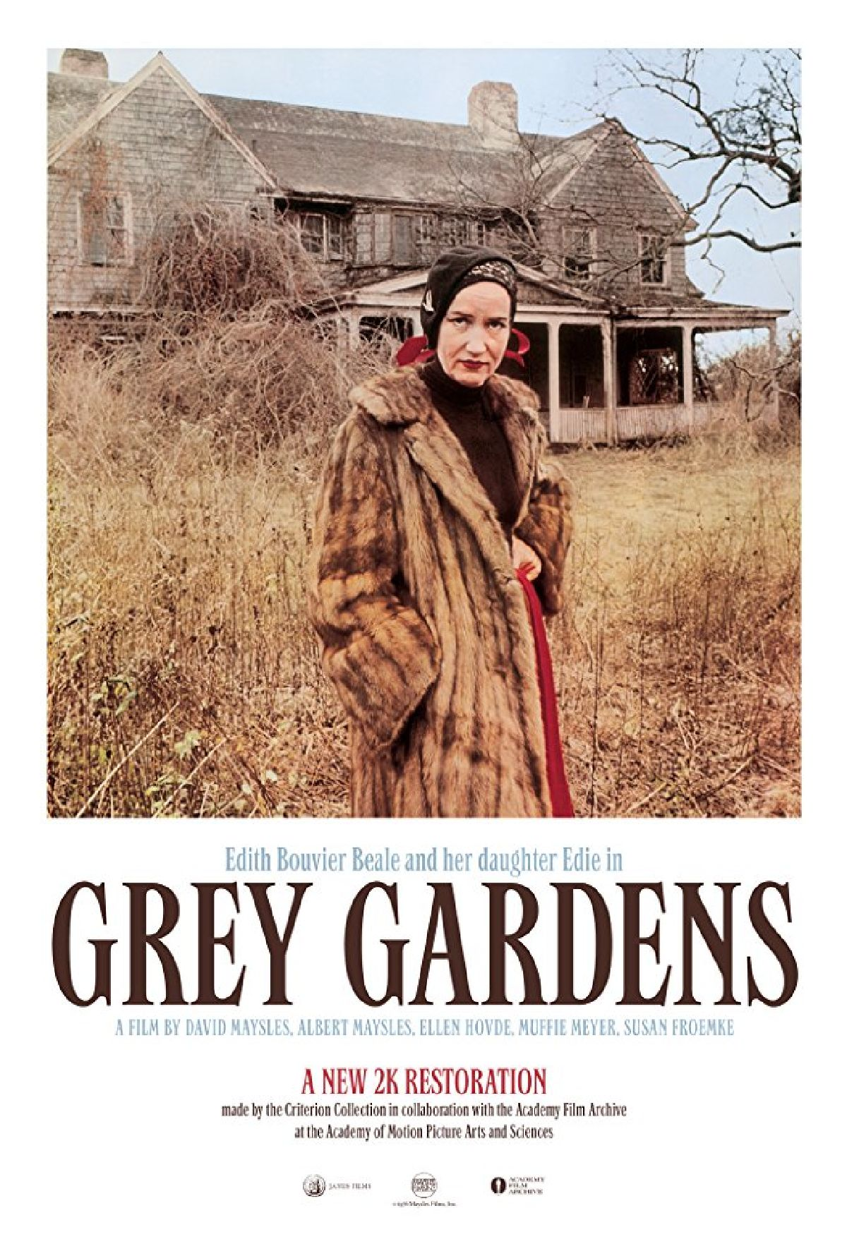 'Grey Gardens' movie poster