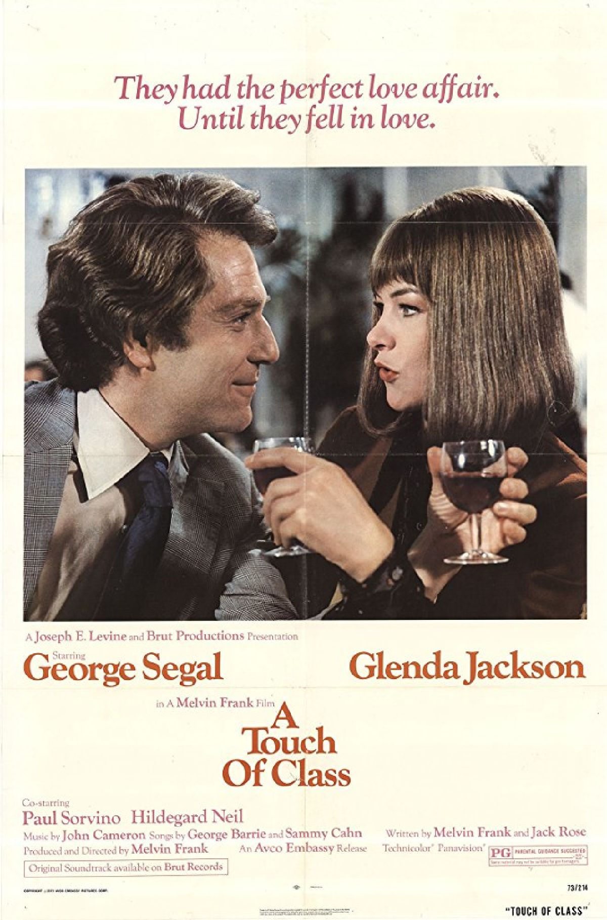 'A Touch Of Class' movie poster
