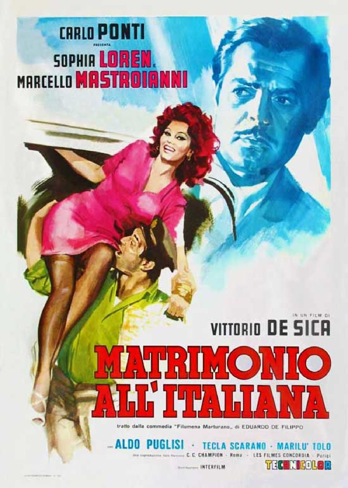 'Marriage Italian Style (Matrimonio All'Italiana)' movie poster
