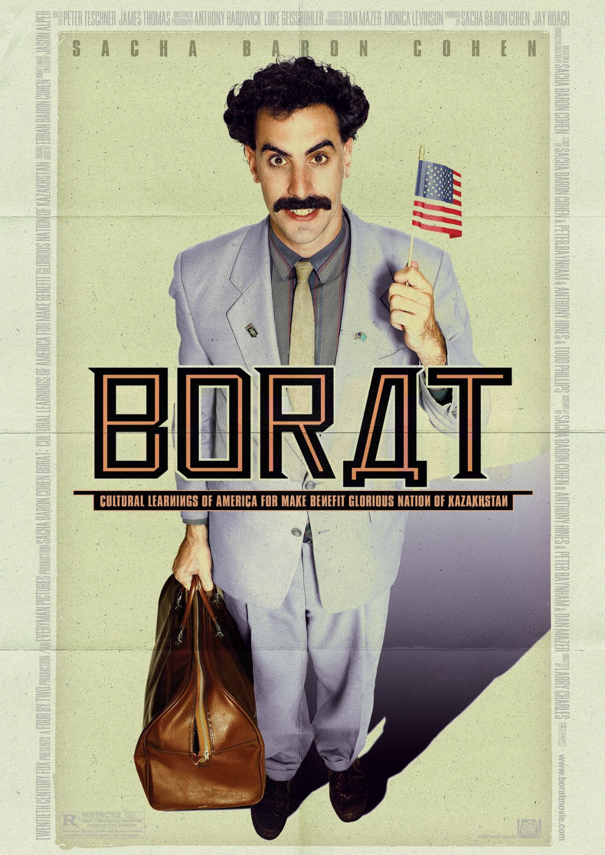 'Borat: Cultural Learnings Of America For Make Benefit Glorious Nation Of Kazakhstan' movie poster