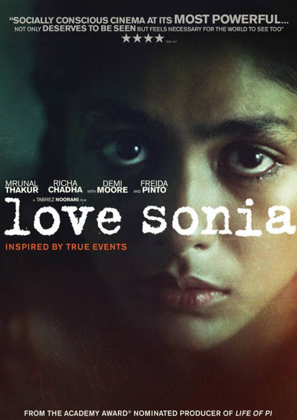 'Love Sonia' movie poster