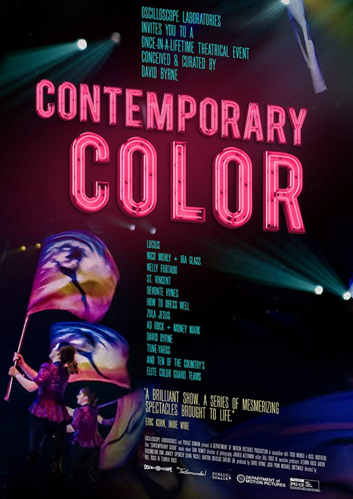 'Contemporary Color' movie poster