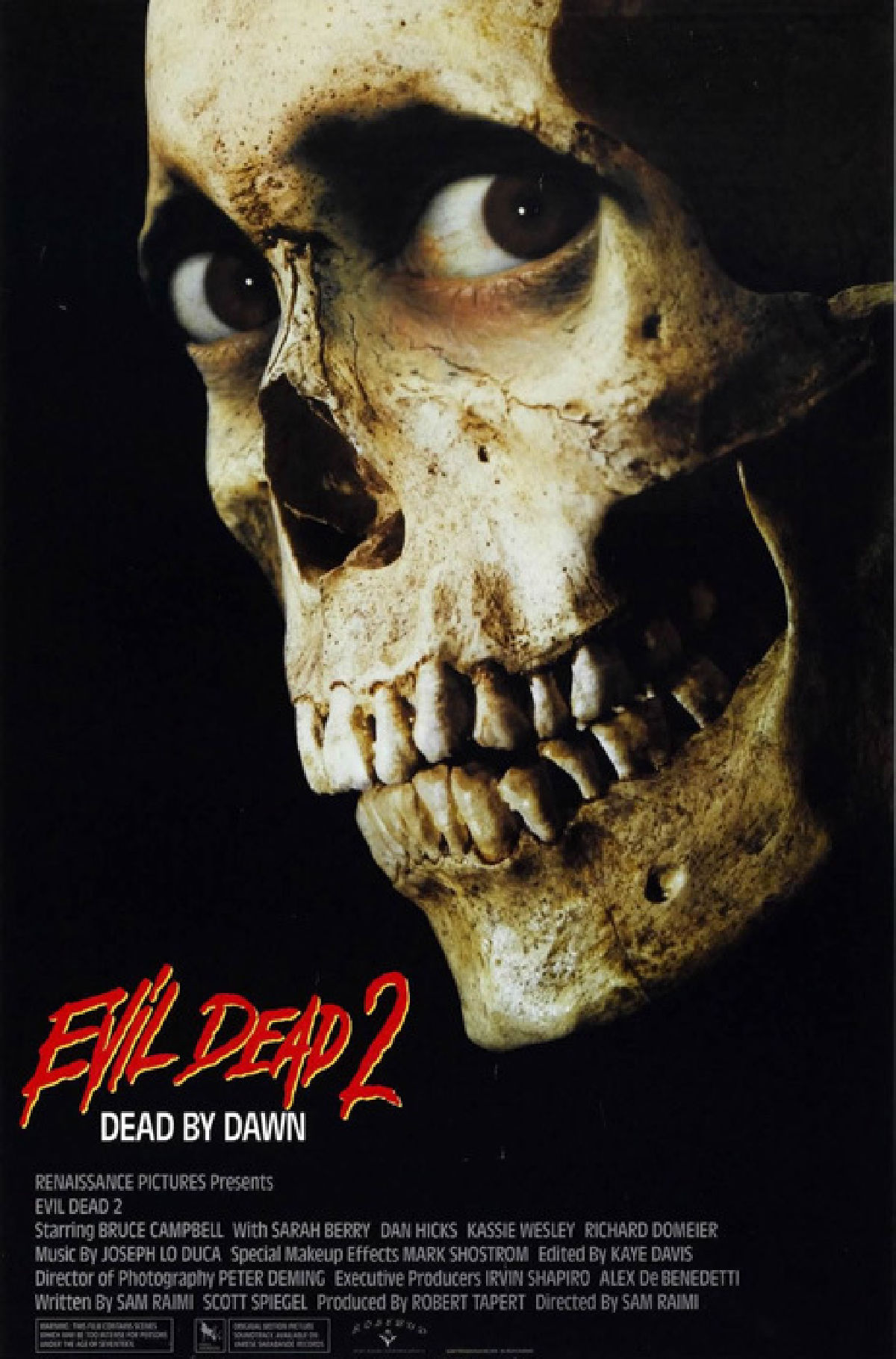 an introduction to the horror movie evil dead ii by sam raimi Watch sam raimi defend the 'evil dead' films on british the fantastical elements of a horror movie dead evil dead 2 evil dead ii featured sam raimi the.
