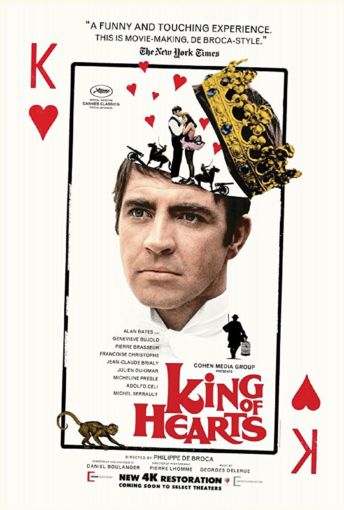 'King Of Hearts' movie poster