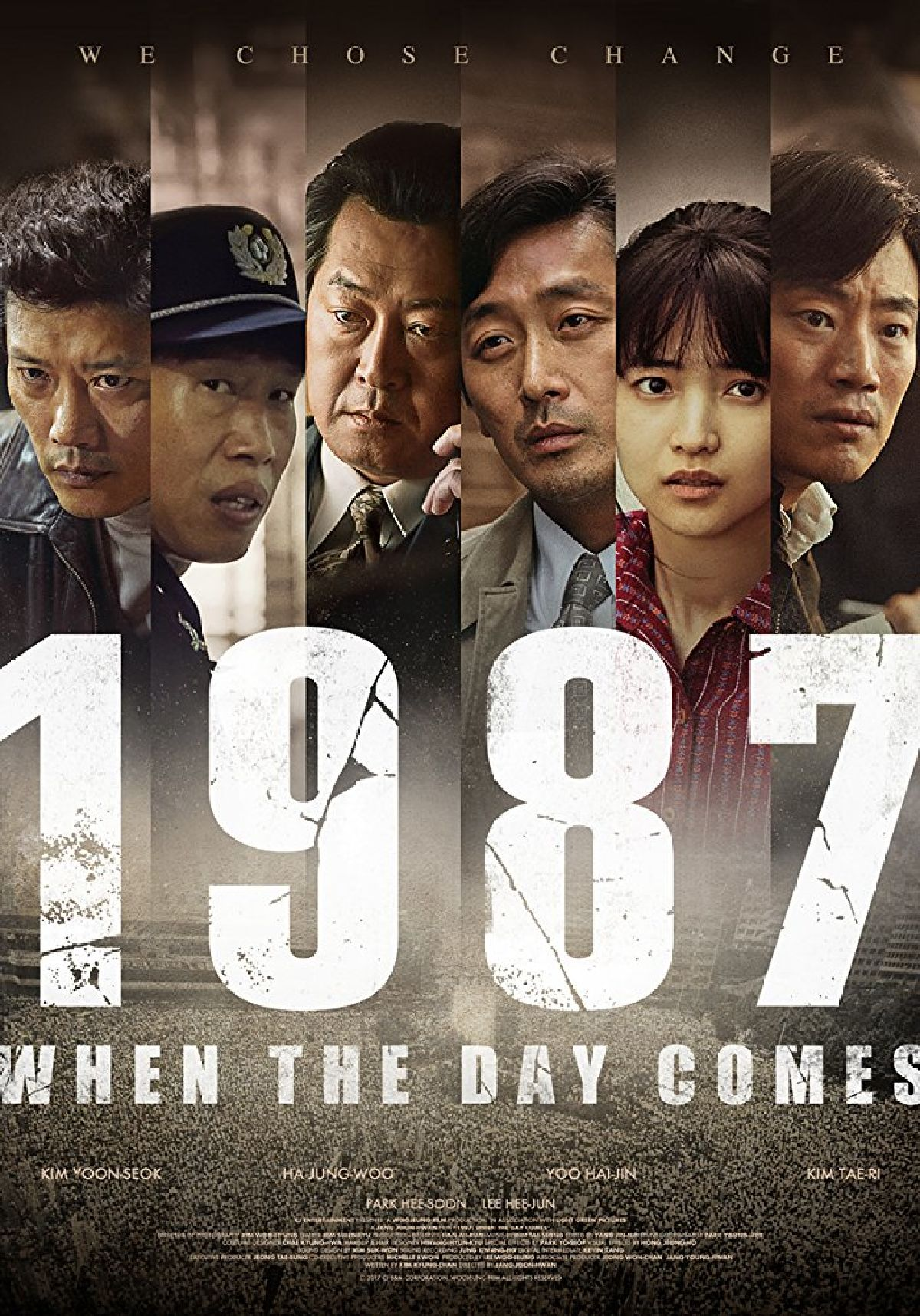 '1987: When The Day Comes' movie poster