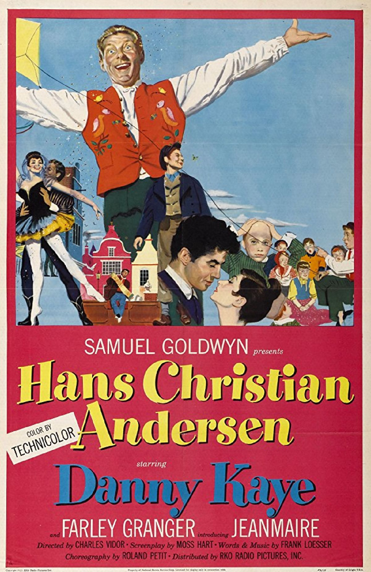 'Hans Christian Andersen' movie poster