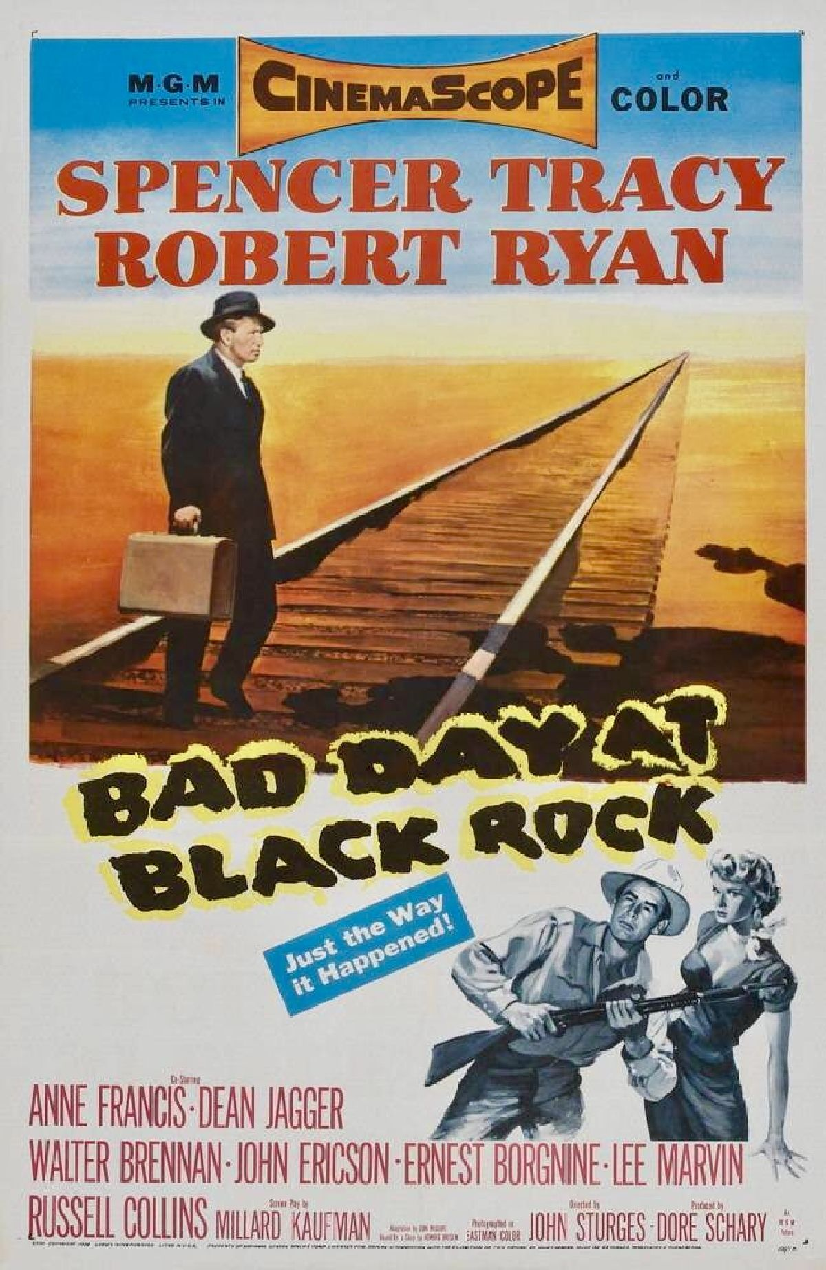 'Bad Day At Black Rock' movie poster