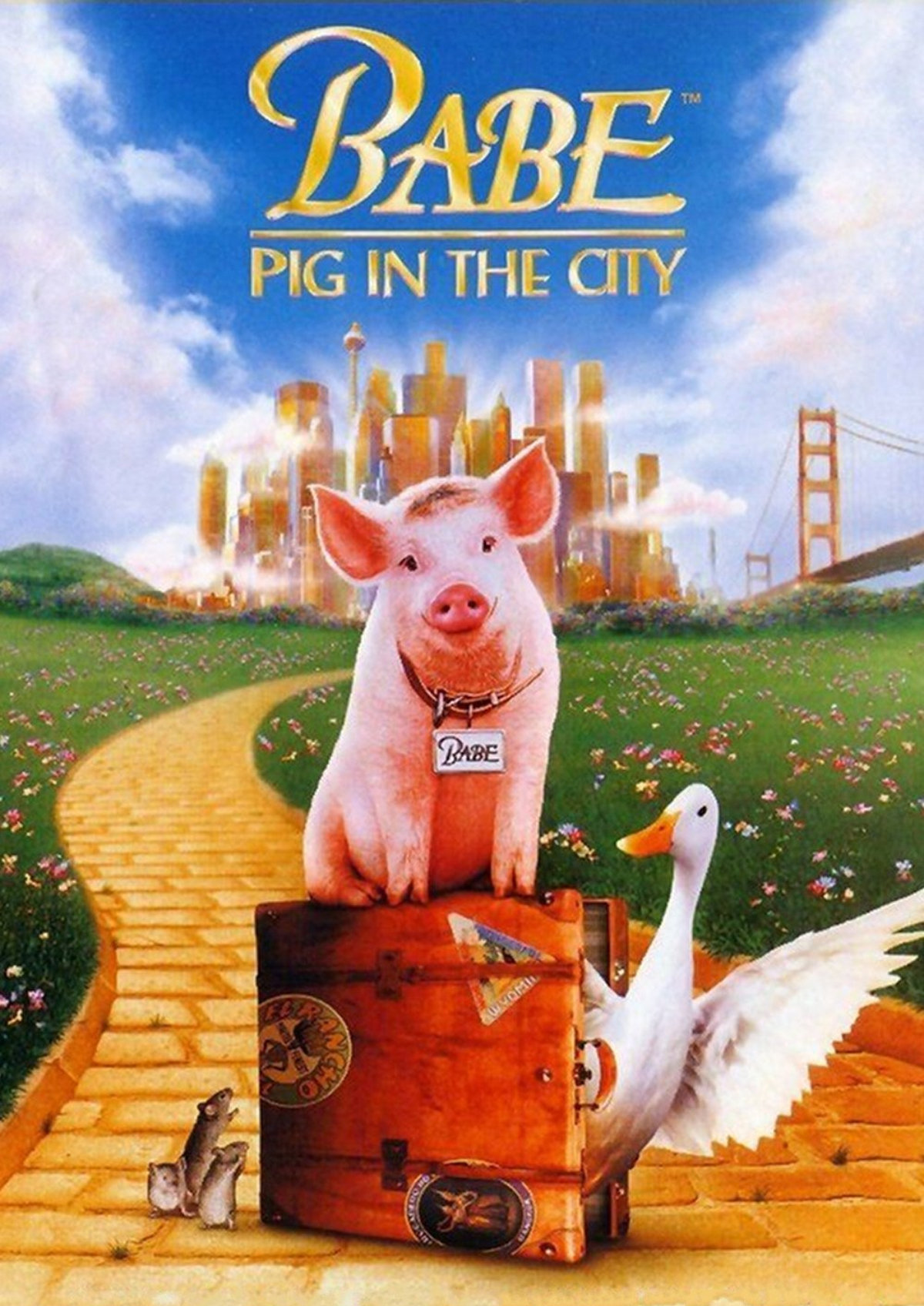 'Babe: Pig in the City' movie poster