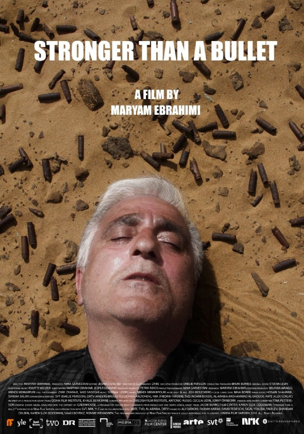 'Stronger Than A Bullet' movie poster