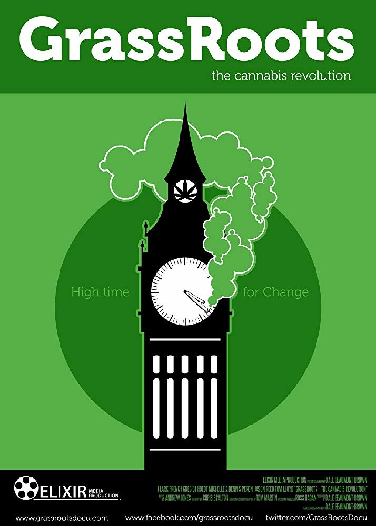 'GrassRoots: The Cannabis Revolution' movie poster
