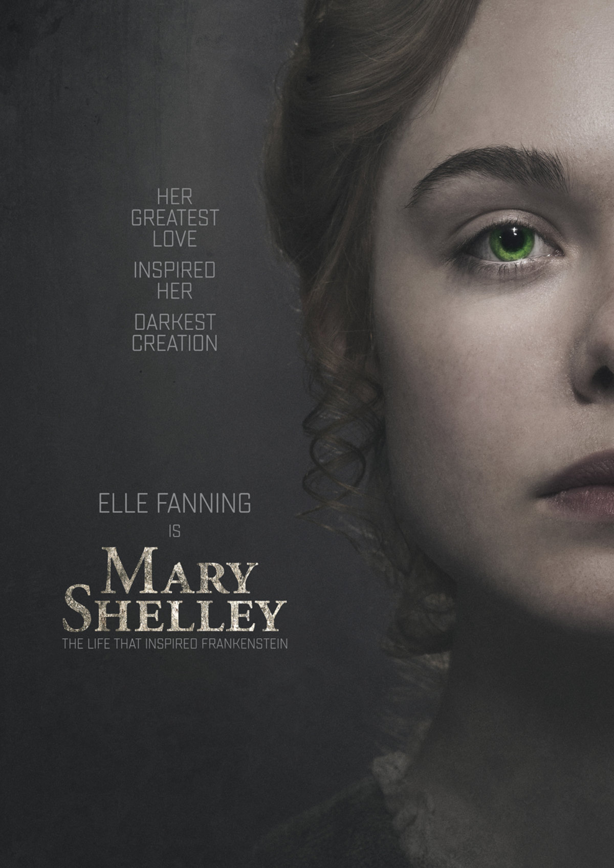'Mary Shelley' movie poster