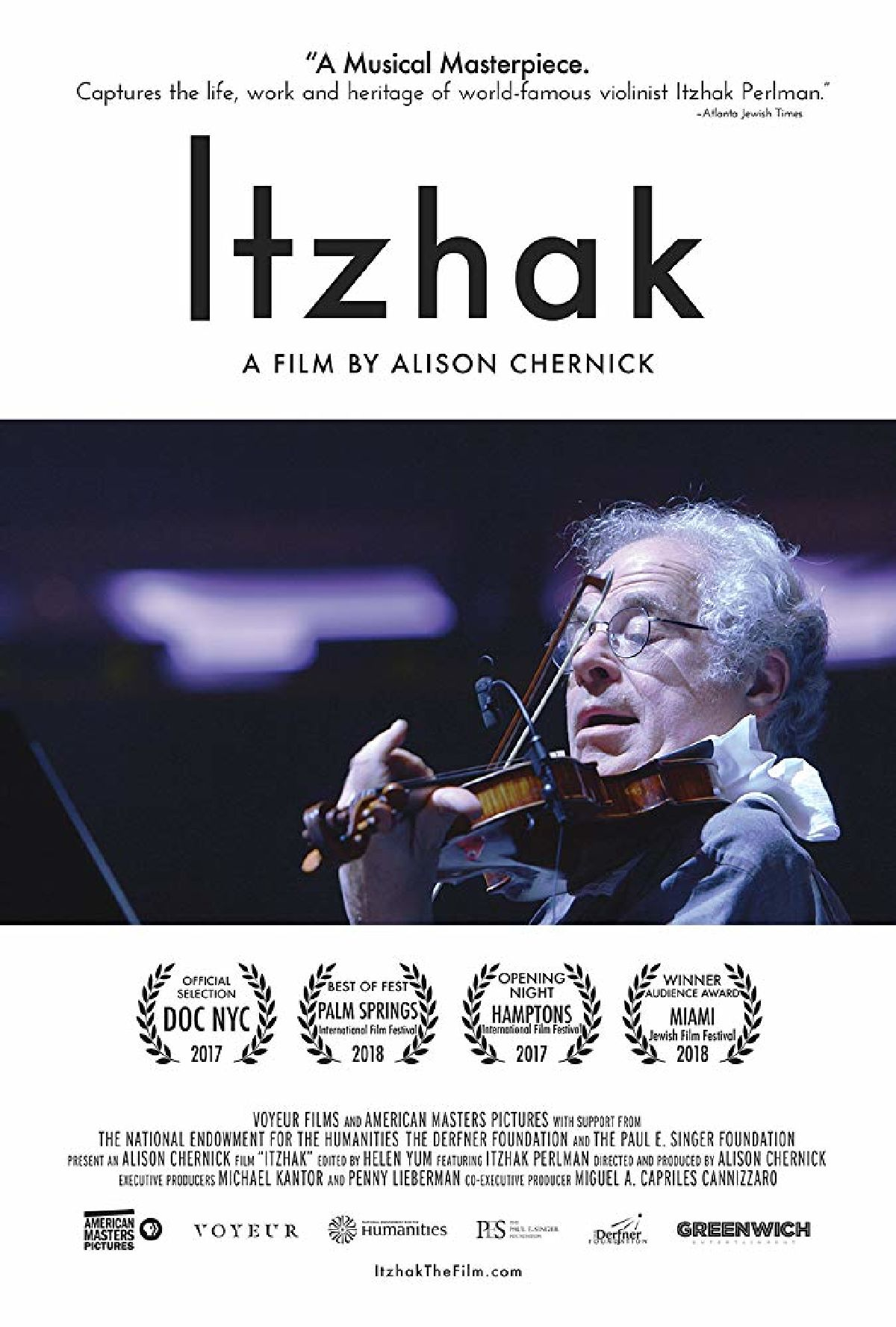 'Itzhak' movie poster