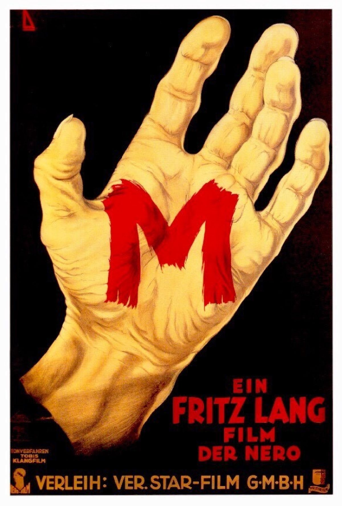 'M (1931)' movie poster