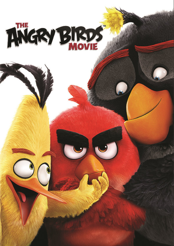 'The Angry Birds Movie' movie poster