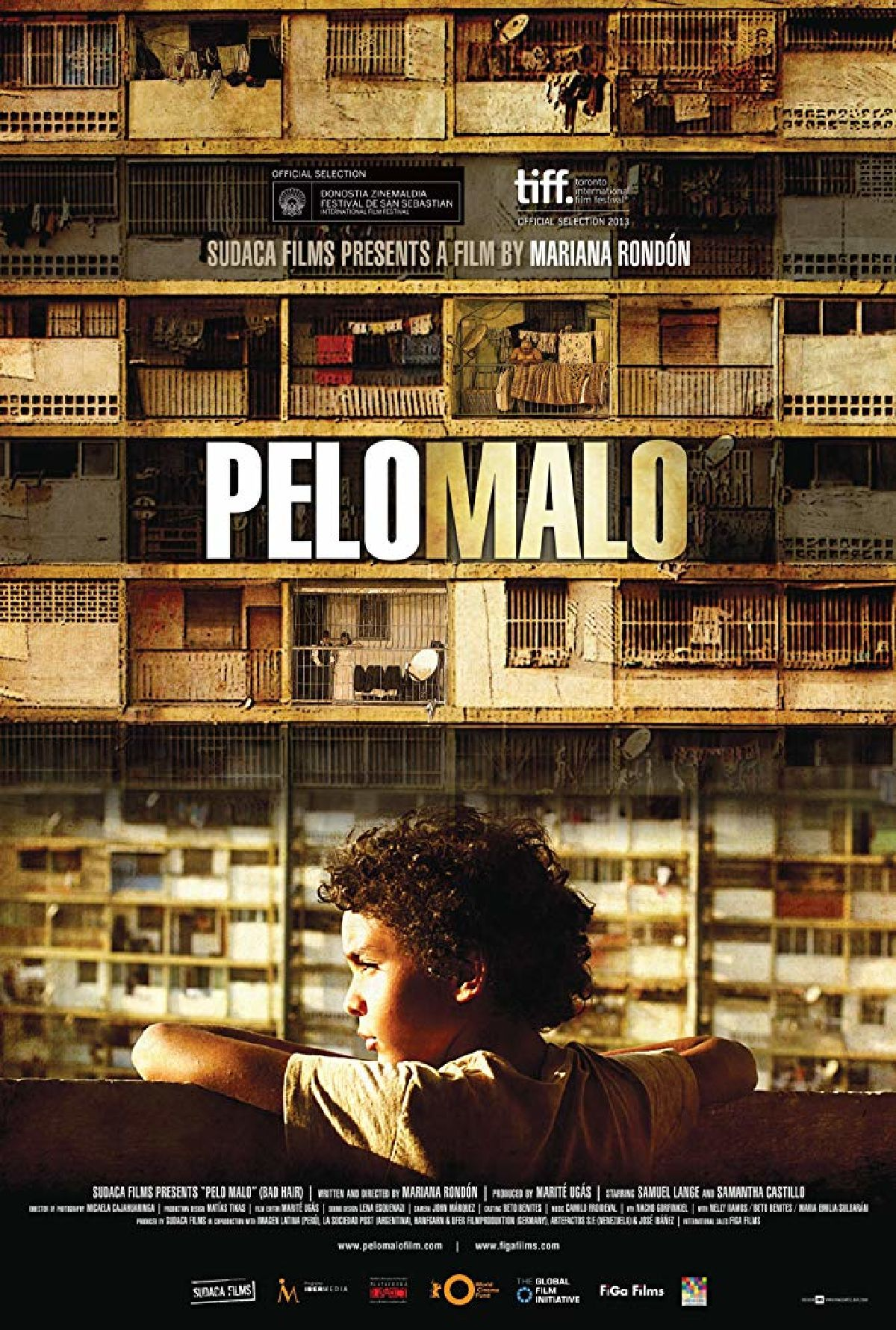 'Bad Hair (Pelo Malo)' movie poster