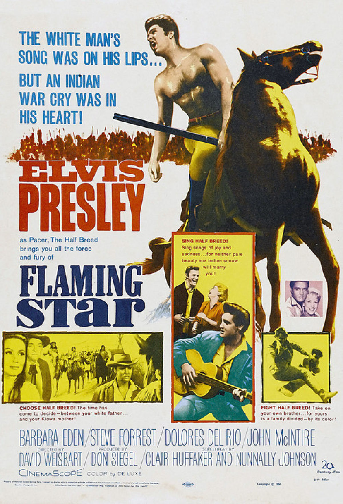 'Flaming Star' movie poster