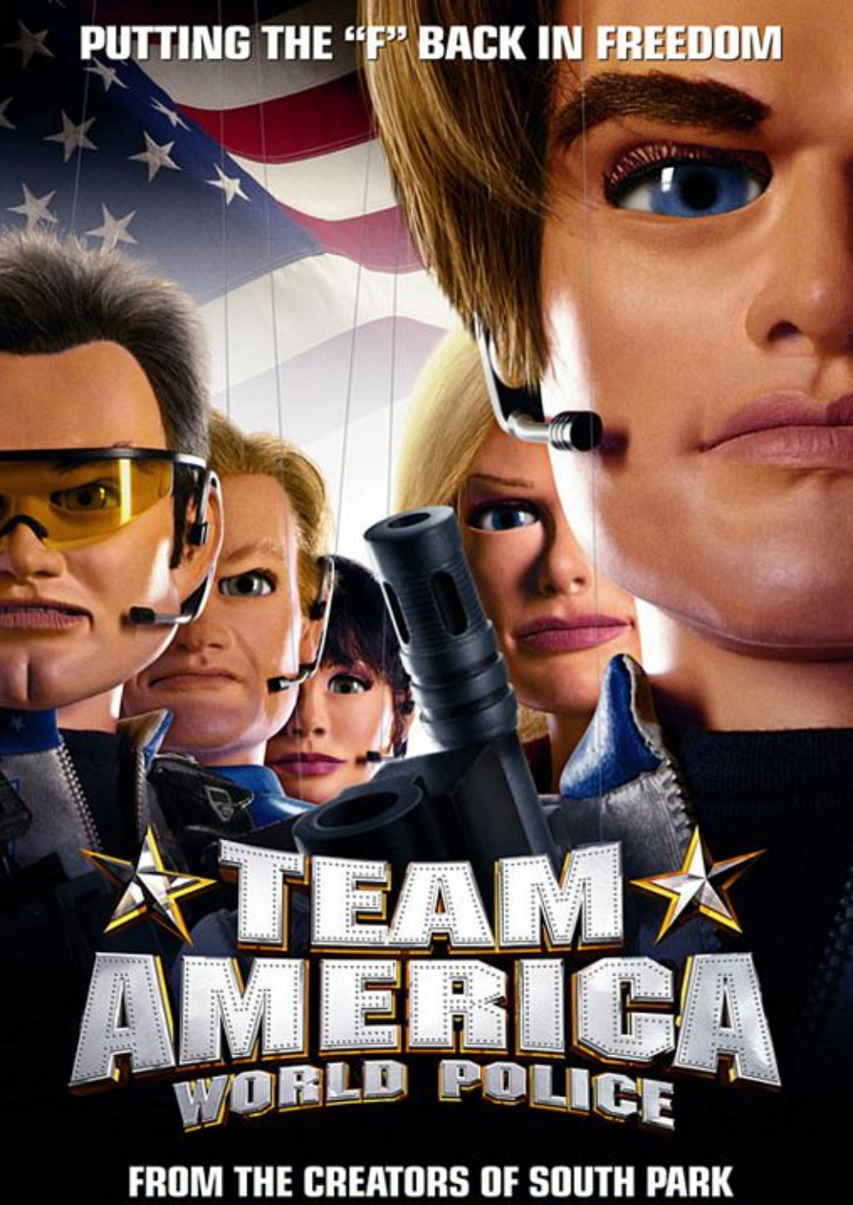 'Team America: World Police' movie poster